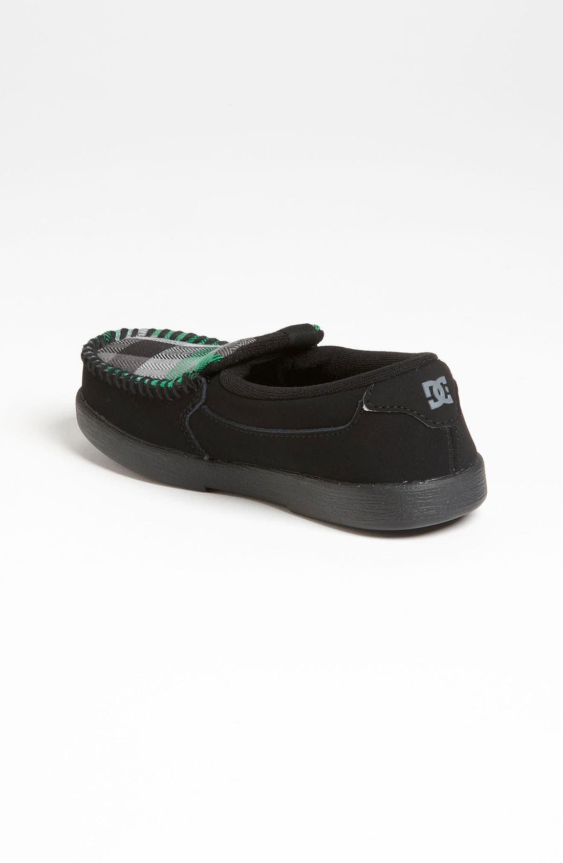 Alternate Image 2  - DC Shoes 'Villain' Slip-On (Walker, Toddler, Little Kid & Big Kid)