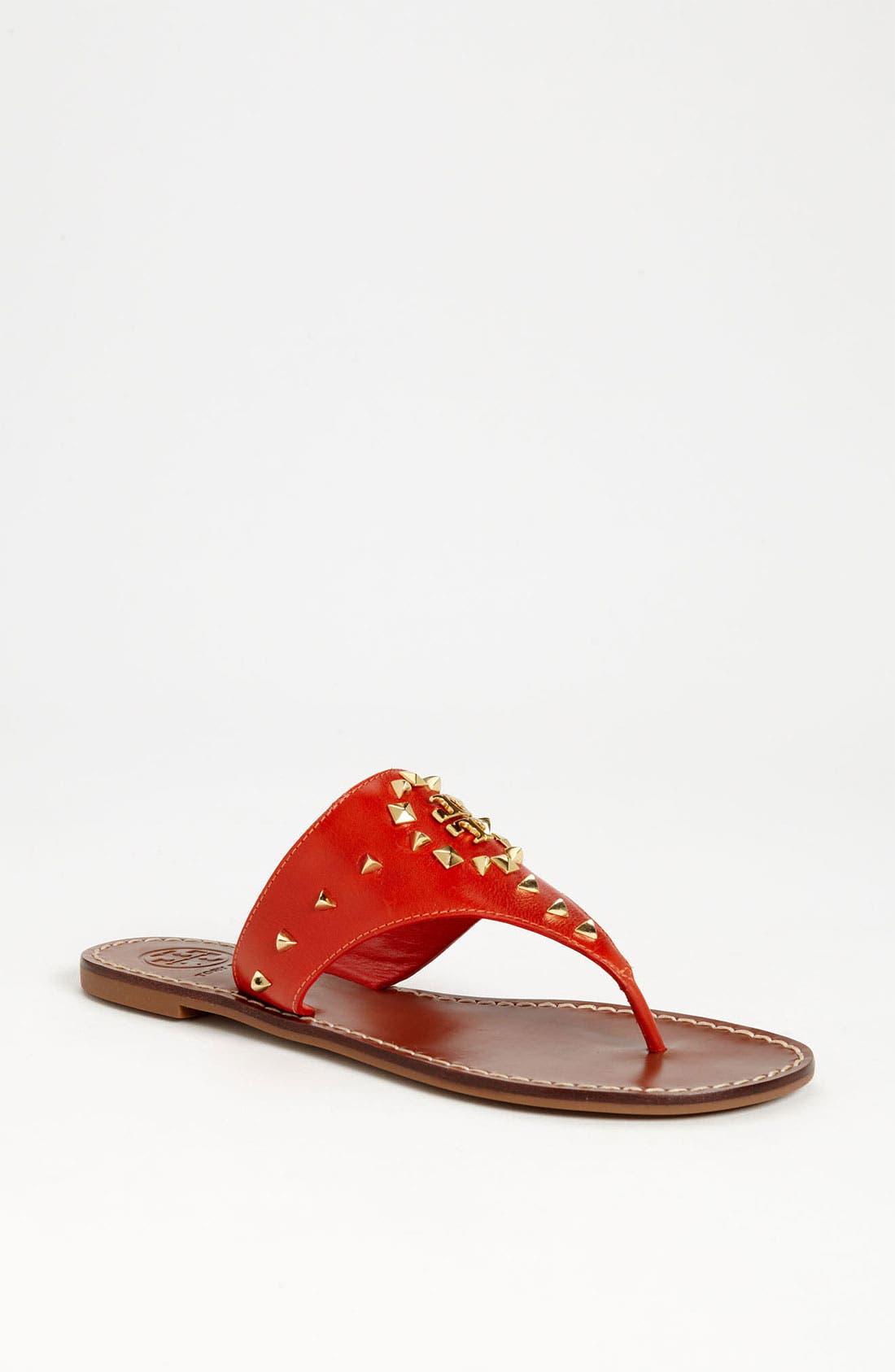 Alternate Image 1 Selected - Tory Burch 'Dale' Thong Sandal