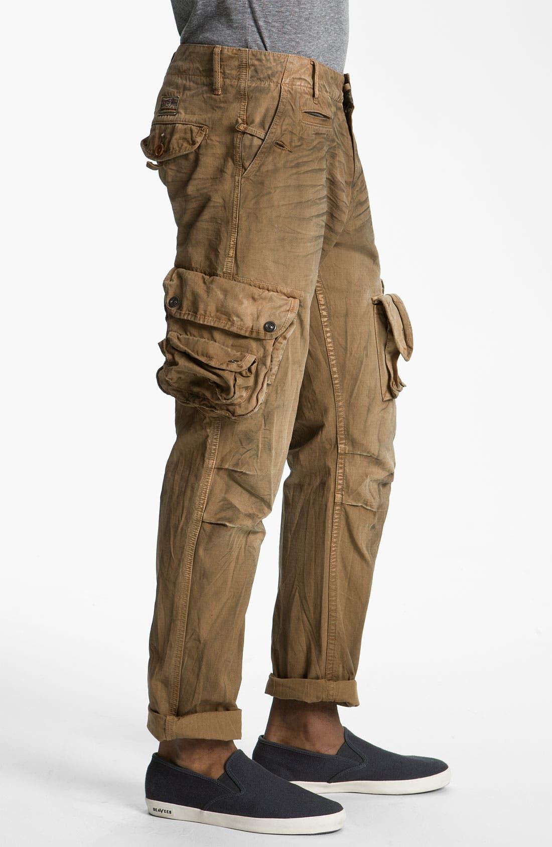 Alternate Image 3  - PRPS Straight Leg Cargo Pants
