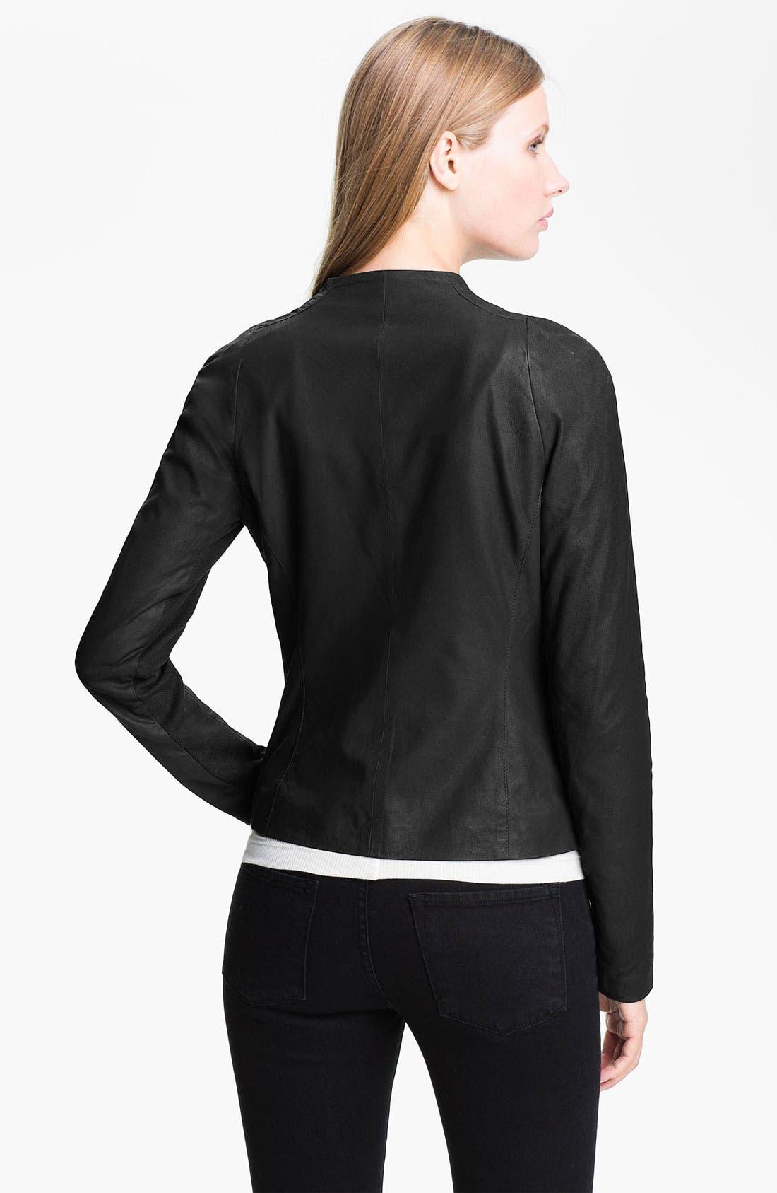 Alternate Image 2  - Vince Leather Jacket