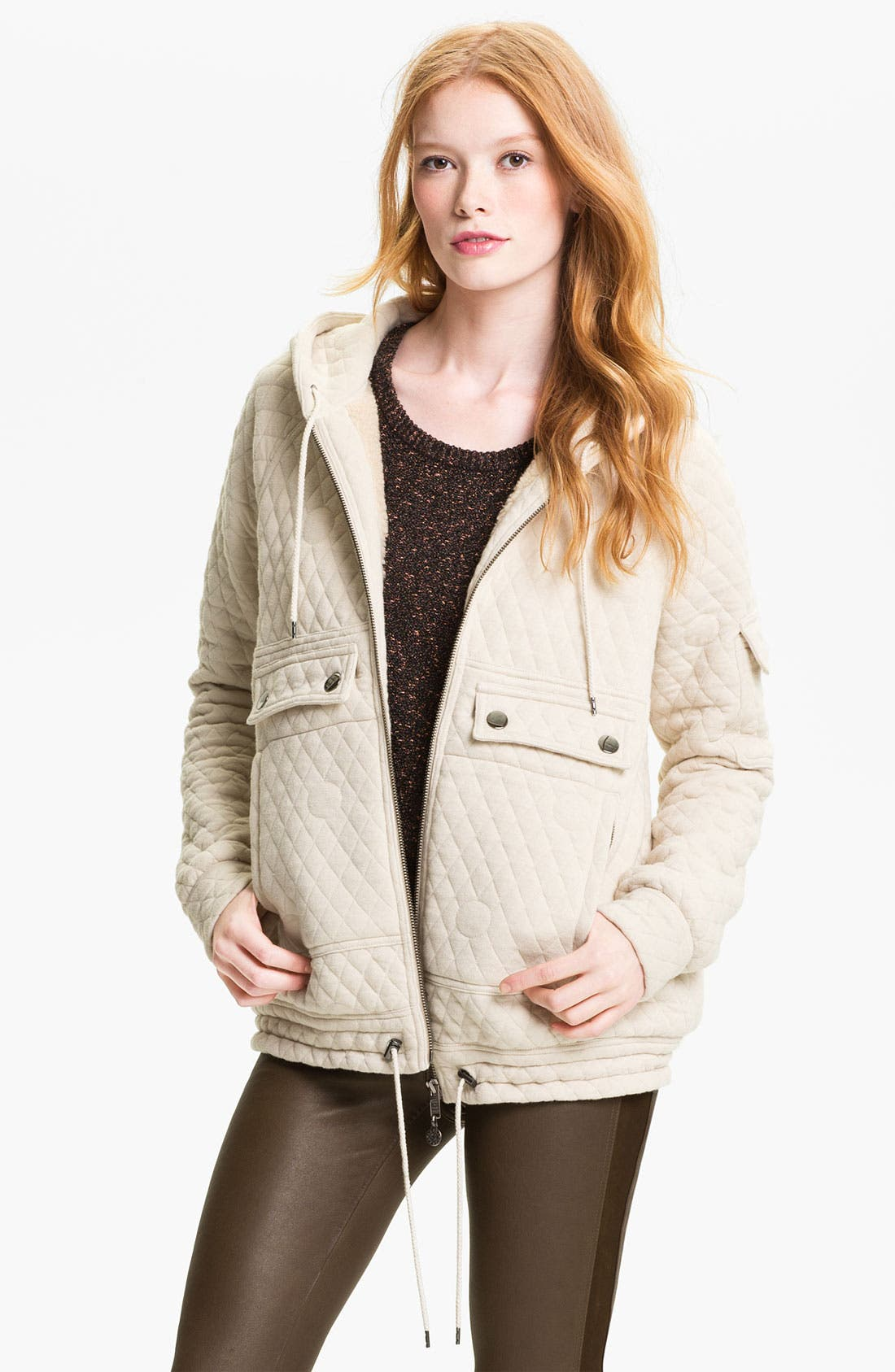 Alternate Image 1 Selected - MARC BY MARC JACOBS 'Gwen' Quilted Jacket