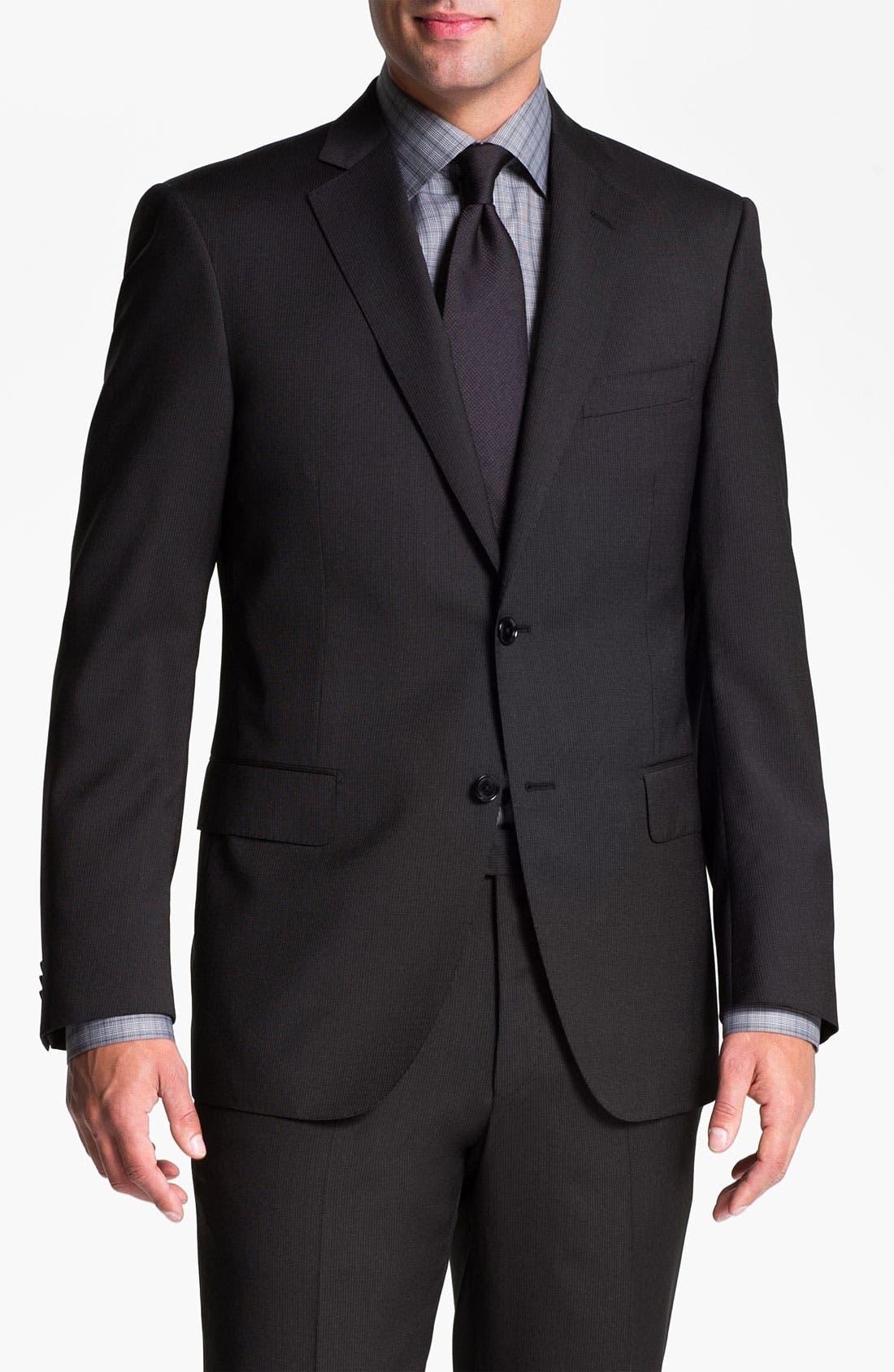 Main Image - Pal Zileri Trim Fit Wool Suit