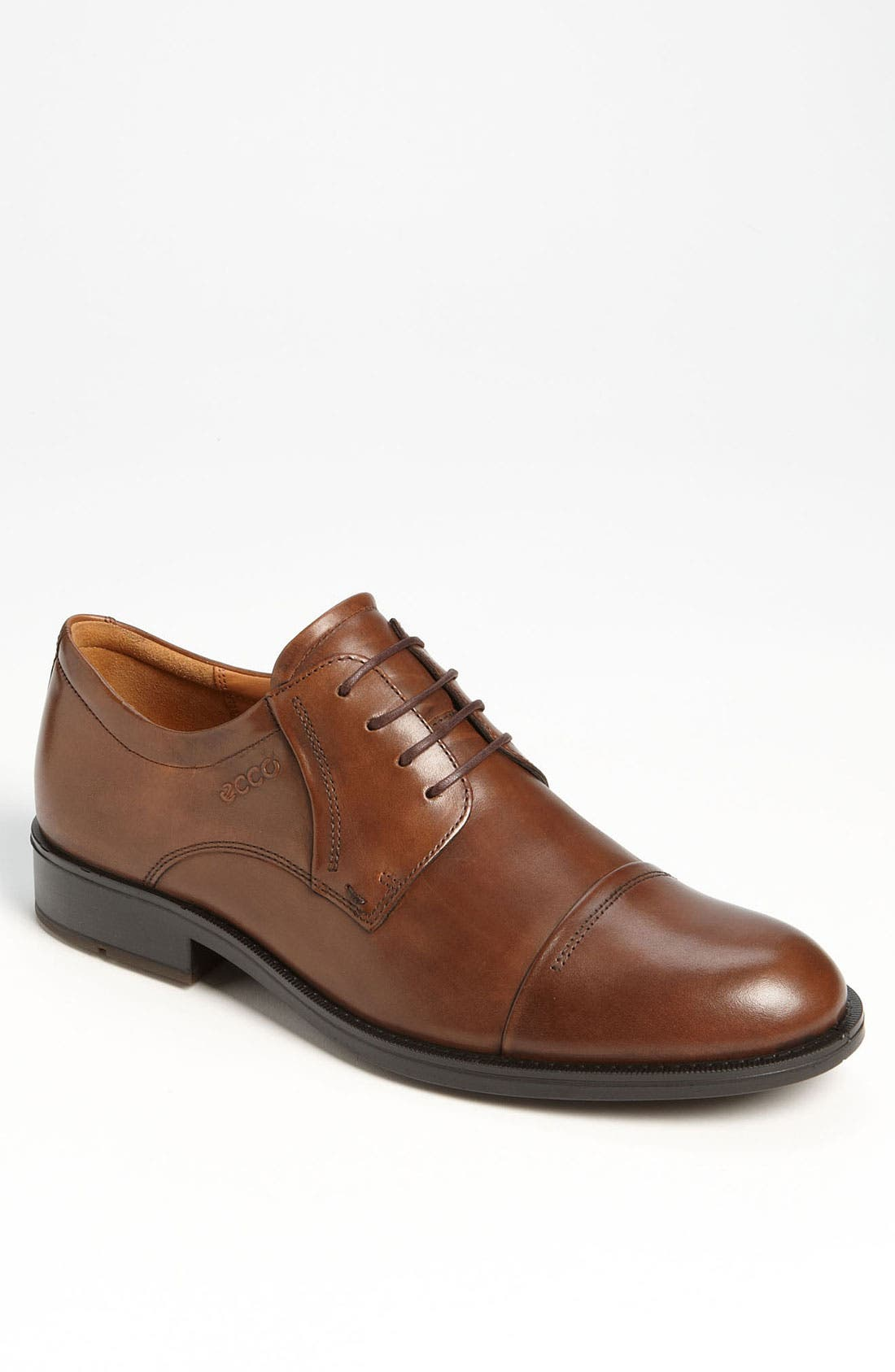 Alternate Image 1 Selected - ECCO 'Birmingham' Cap Toe Derby