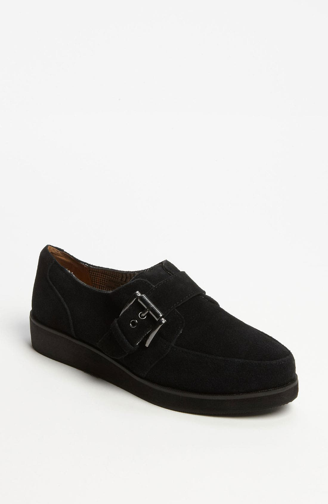 Alternate Image 1 Selected - Topshop 'Mono' Monk Strap Creeper