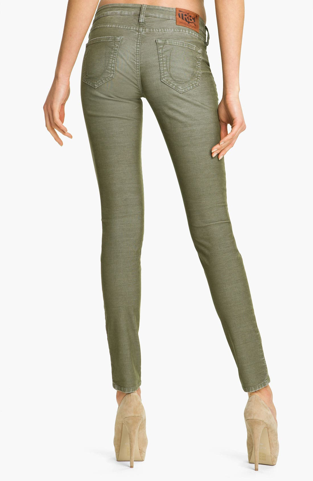 Main Image - True Religion Brand Jeans 'Shannon' Skinny Corduroy Pants