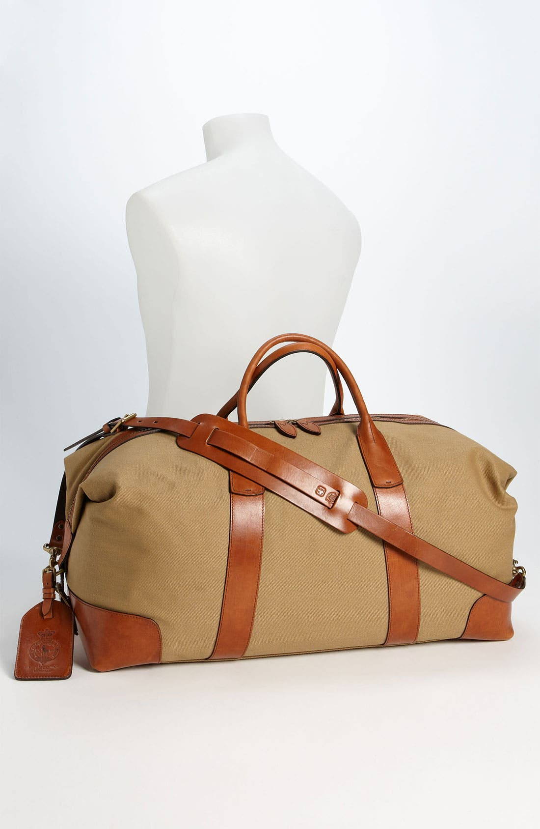 Alternate Image 4  - Polo Ralph Lauren Canvas Duffel Bag