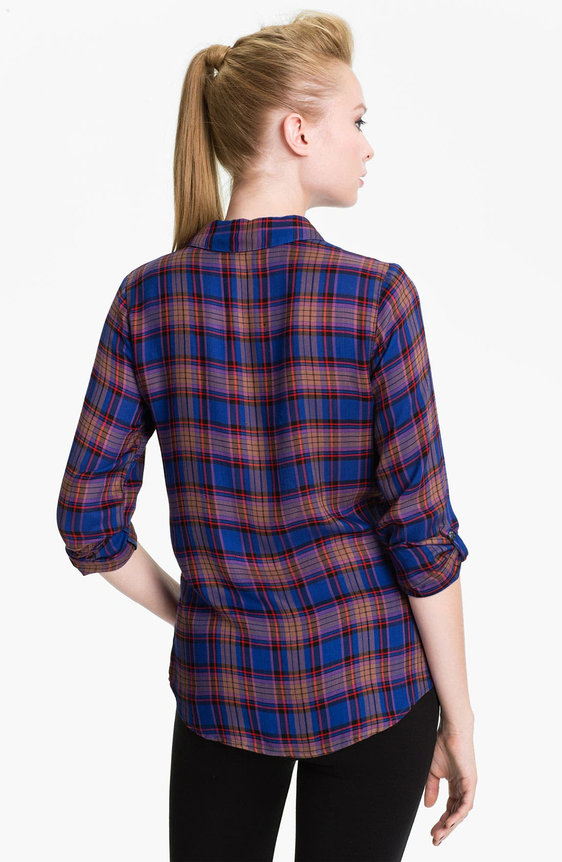Alternate Image 2  - Splendid 'Charlee' Plaid Shirt