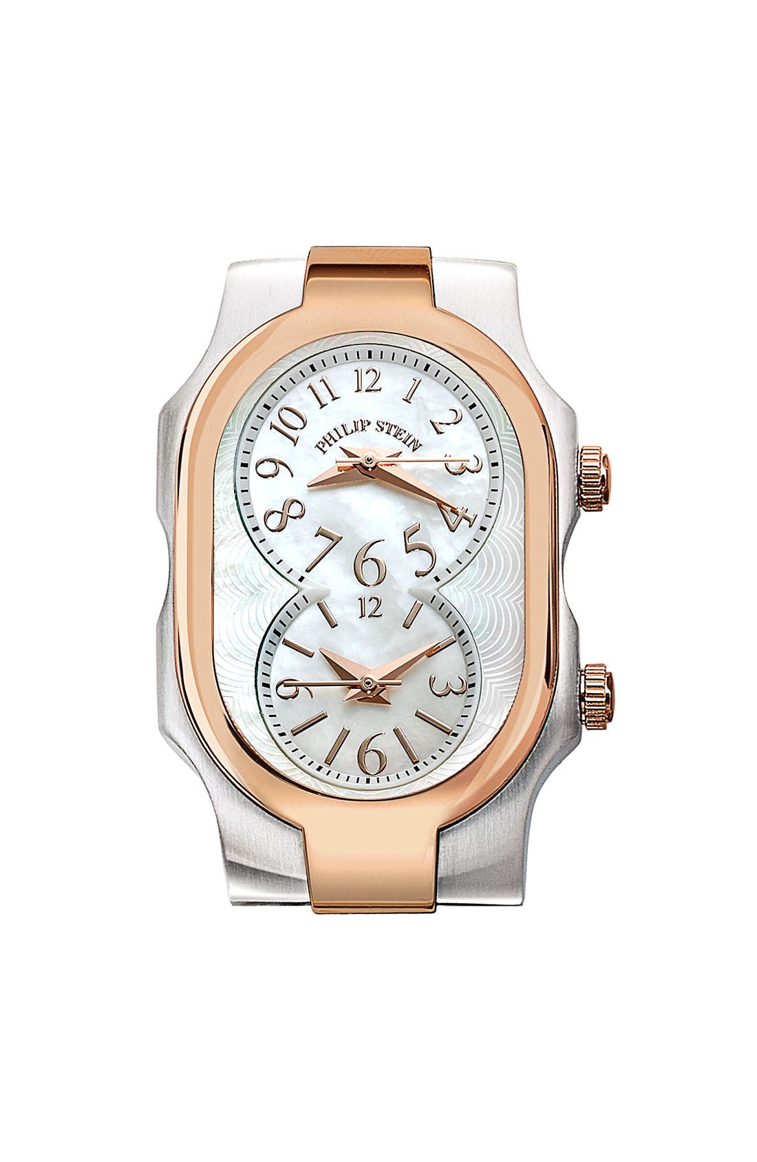 Main Image - Philip Stein® 'Signature' Small Two Tone Watch Case