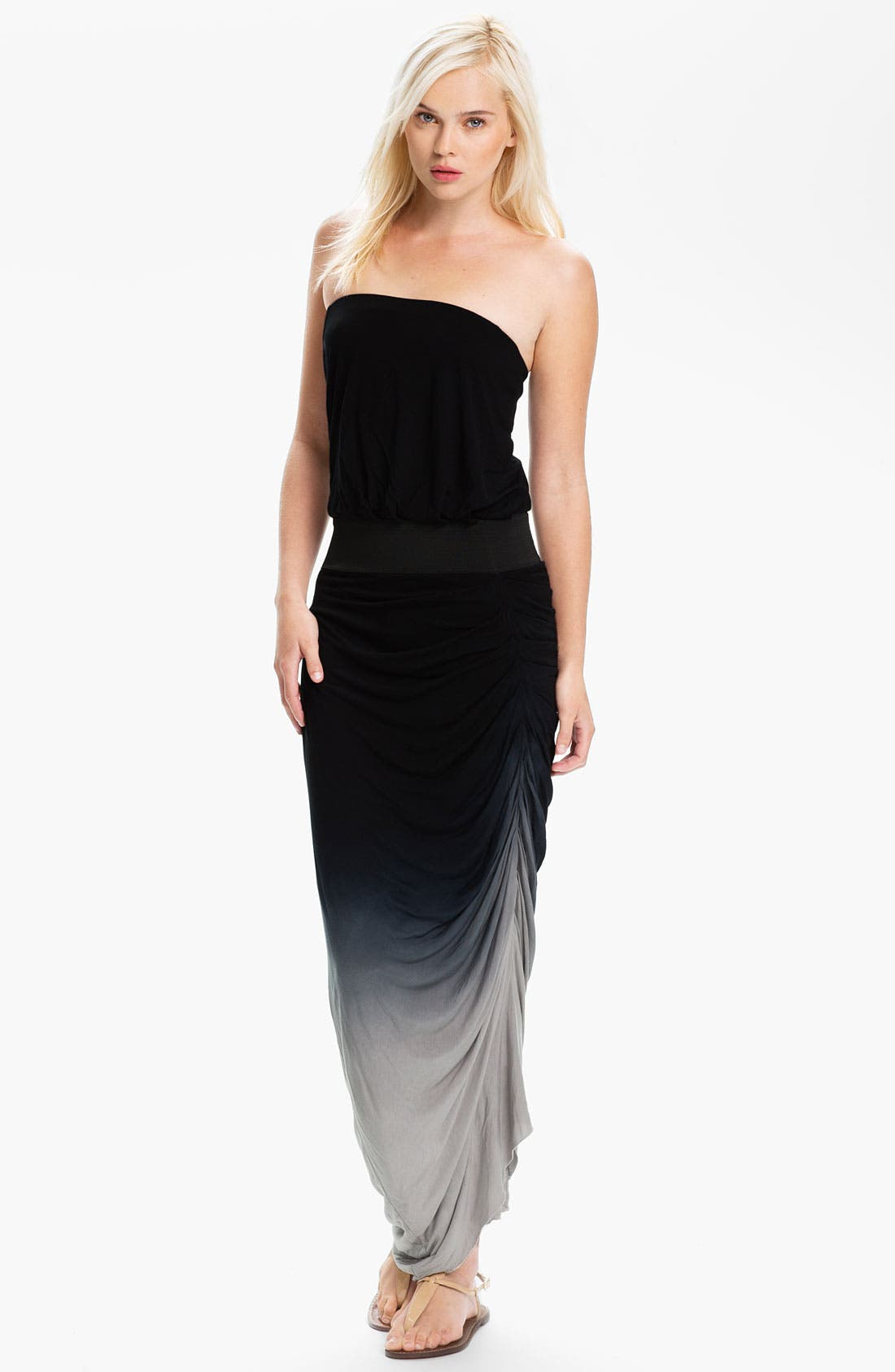Main Image - Young, Fabulous & Broke 'Tania' Strapless Dress