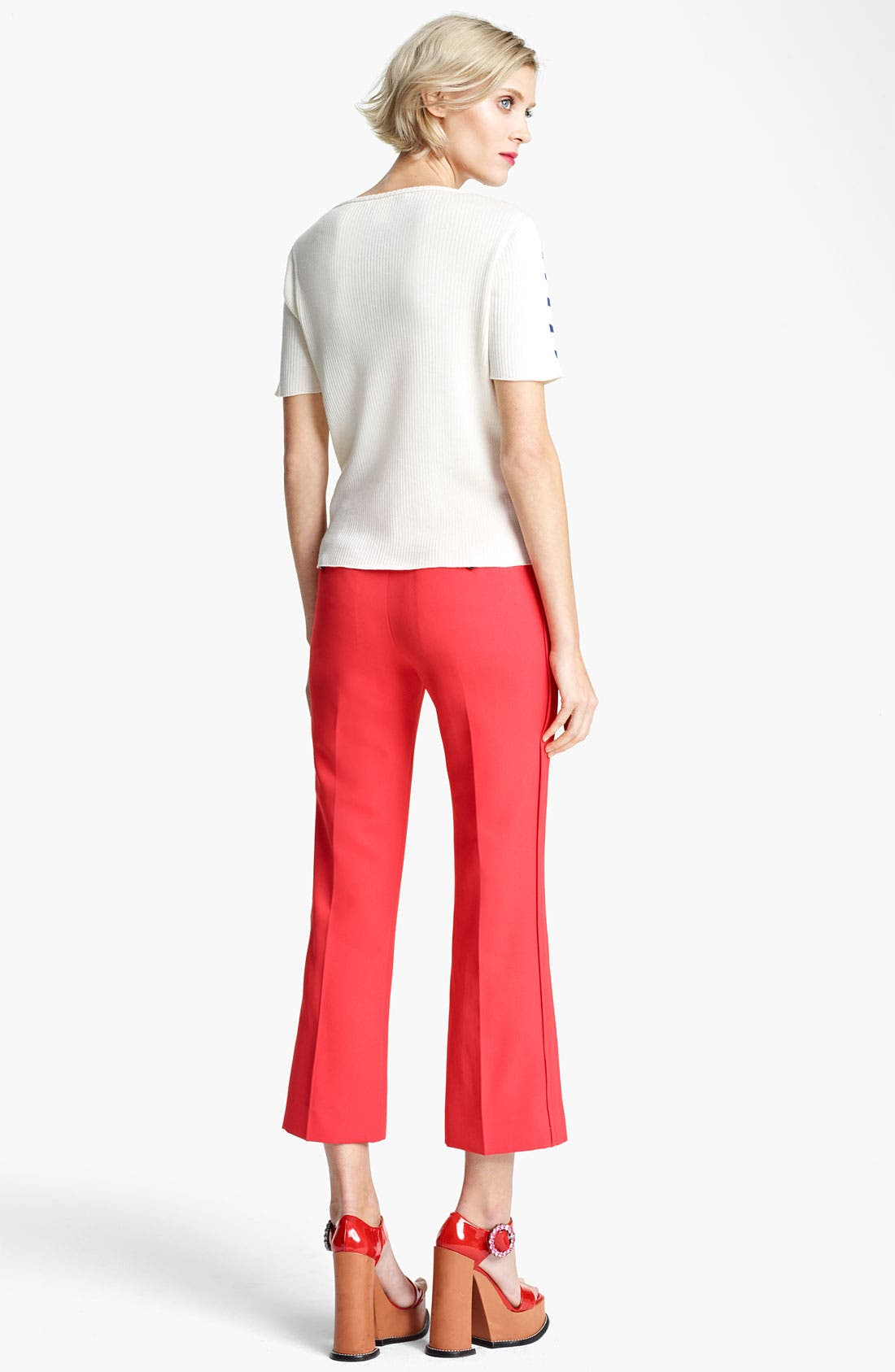 Alternate Image 3  - MARC JACOBS Stripe Short Sleeve Sweater