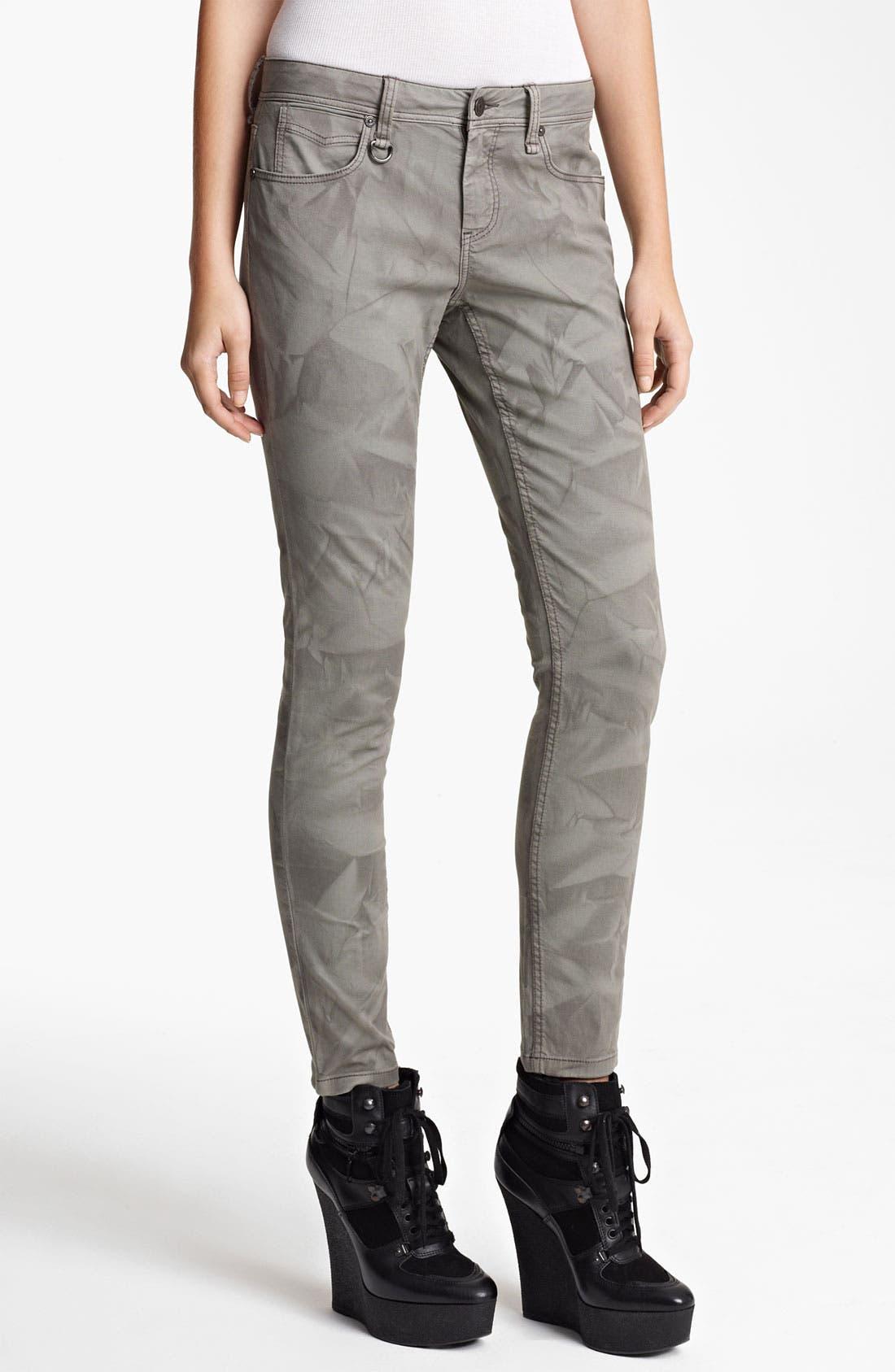 Alternate Image 1 Selected - Burberry Brit Crumple Dye Pants (Online Exclusive)