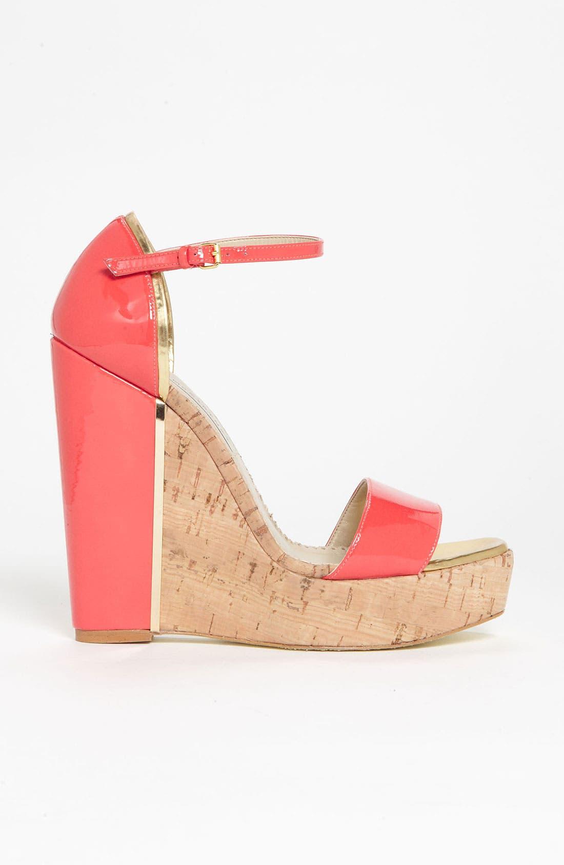 Alternate Image 3  - Stella McCartney Open Toe Wedge Sandal