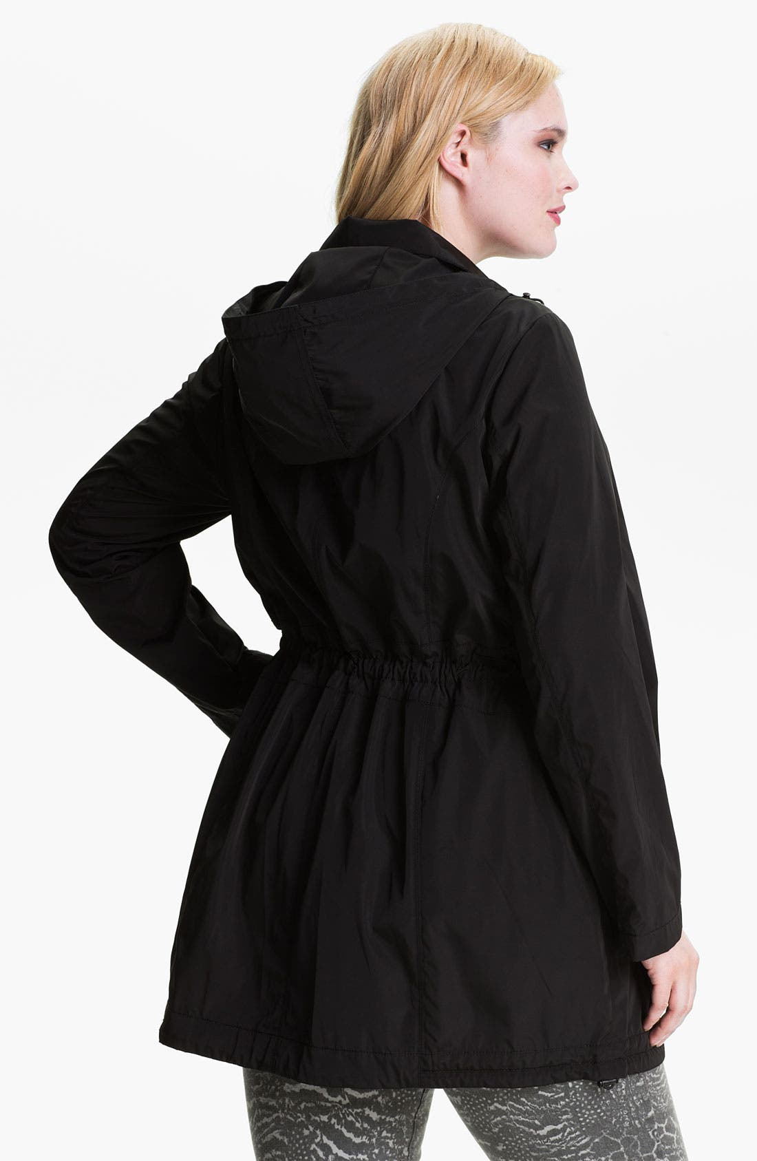 Alternate Image 2  - Laundry by Shelli Segal Packable Anorak (Plus)