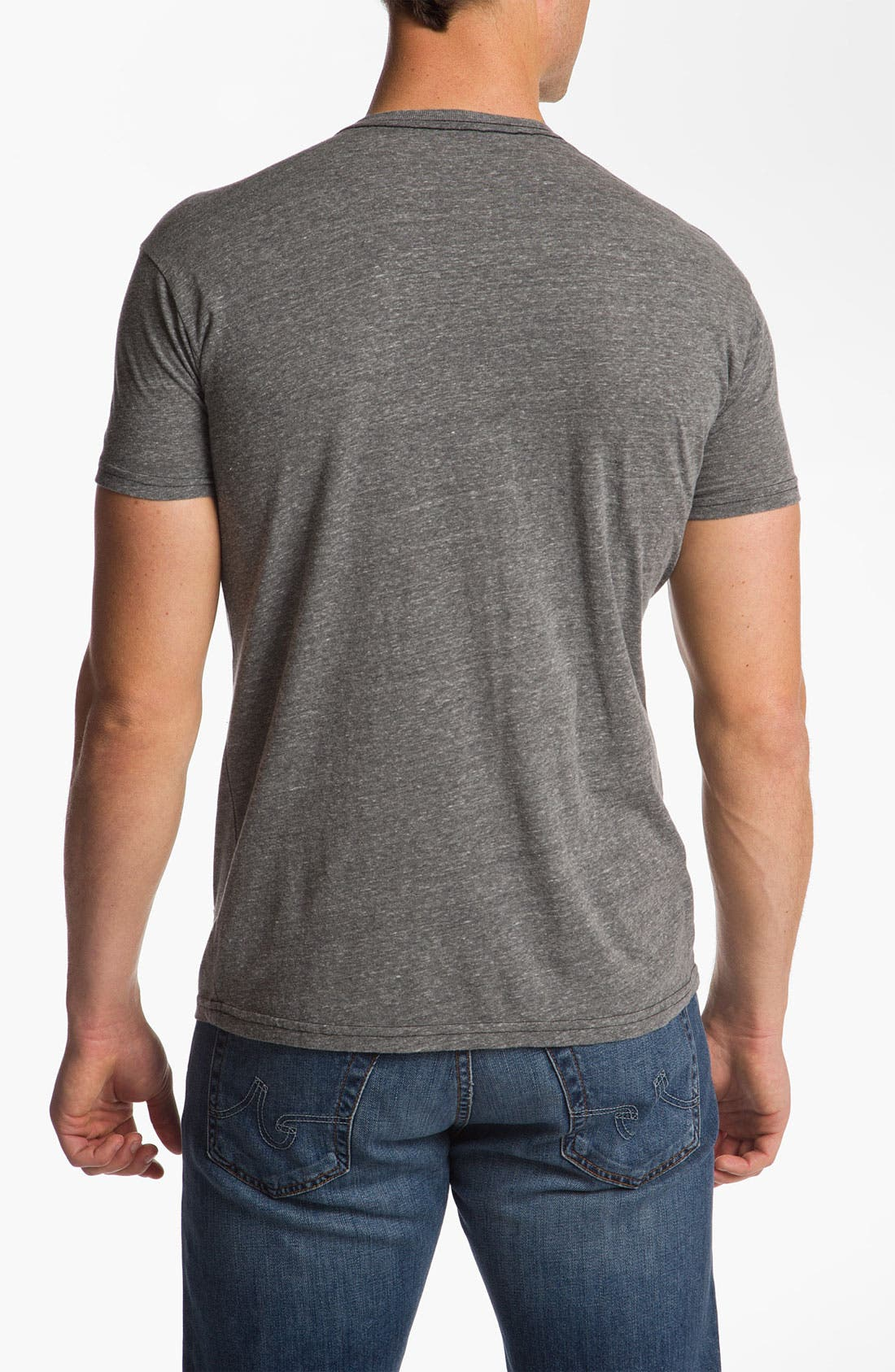 Alternate Image 2  - The Original Retro Brand 'Oregon Ducks - Stitch' T-Shirt