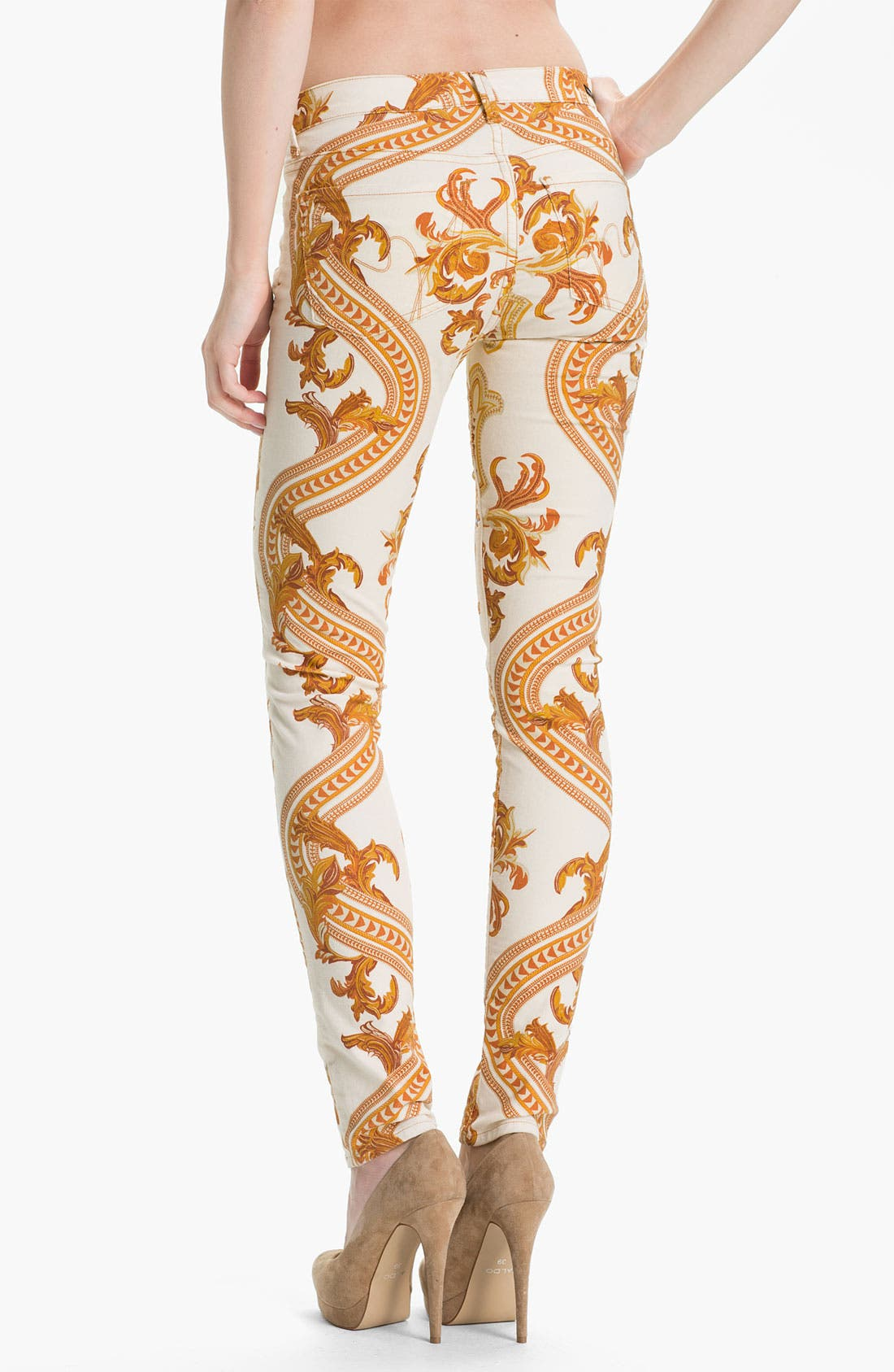 Alternate Image 2  - Citizens of Humanity Skinny Jeans (Rococo Gold)