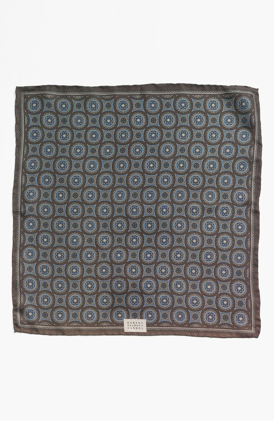 Alternate Image 2  - Robert Talbott Floral Pocket Square