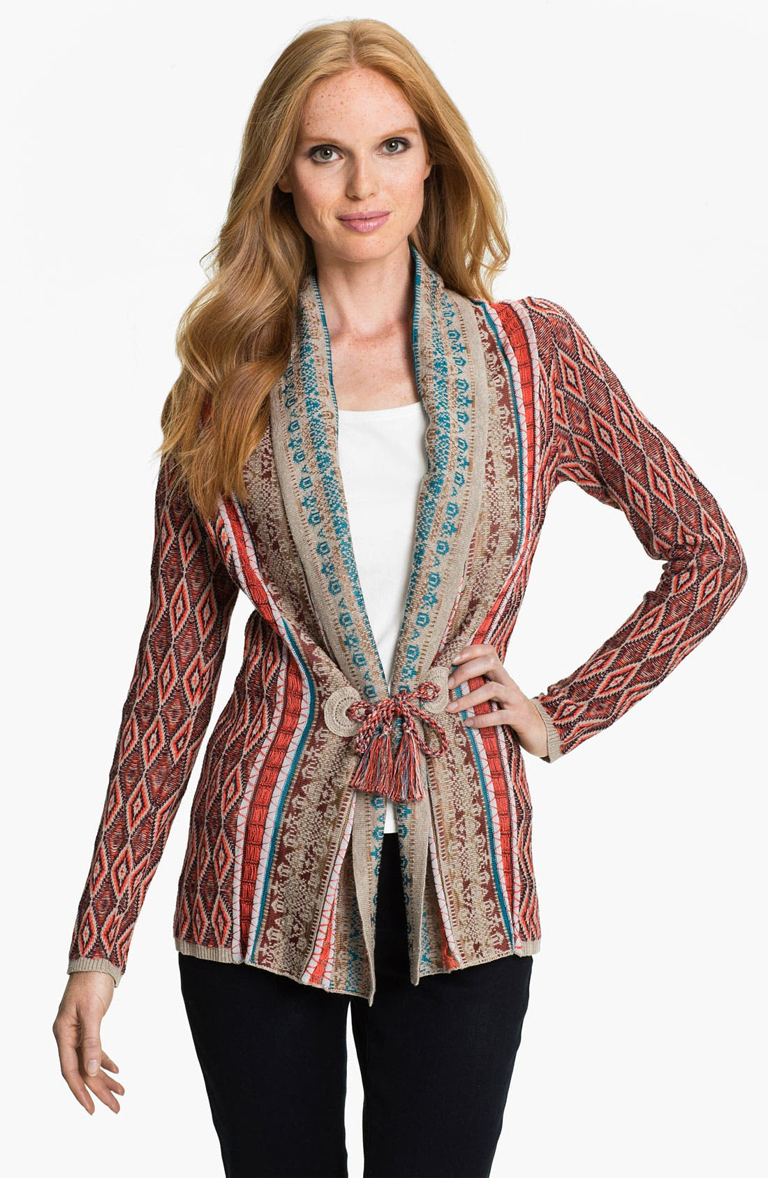 Alternate Image 1 Selected - Nic + Zoe 'Diamond' Cardigan