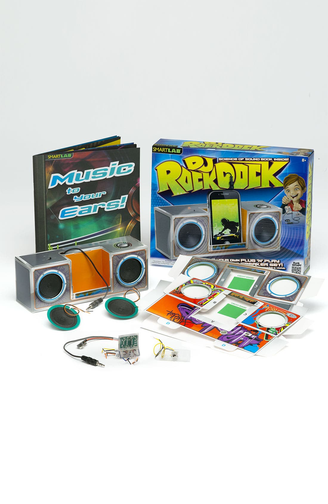 Alternate Image 1 Selected - Smart Lab 'DJ Rock Dock' Paper Speakers