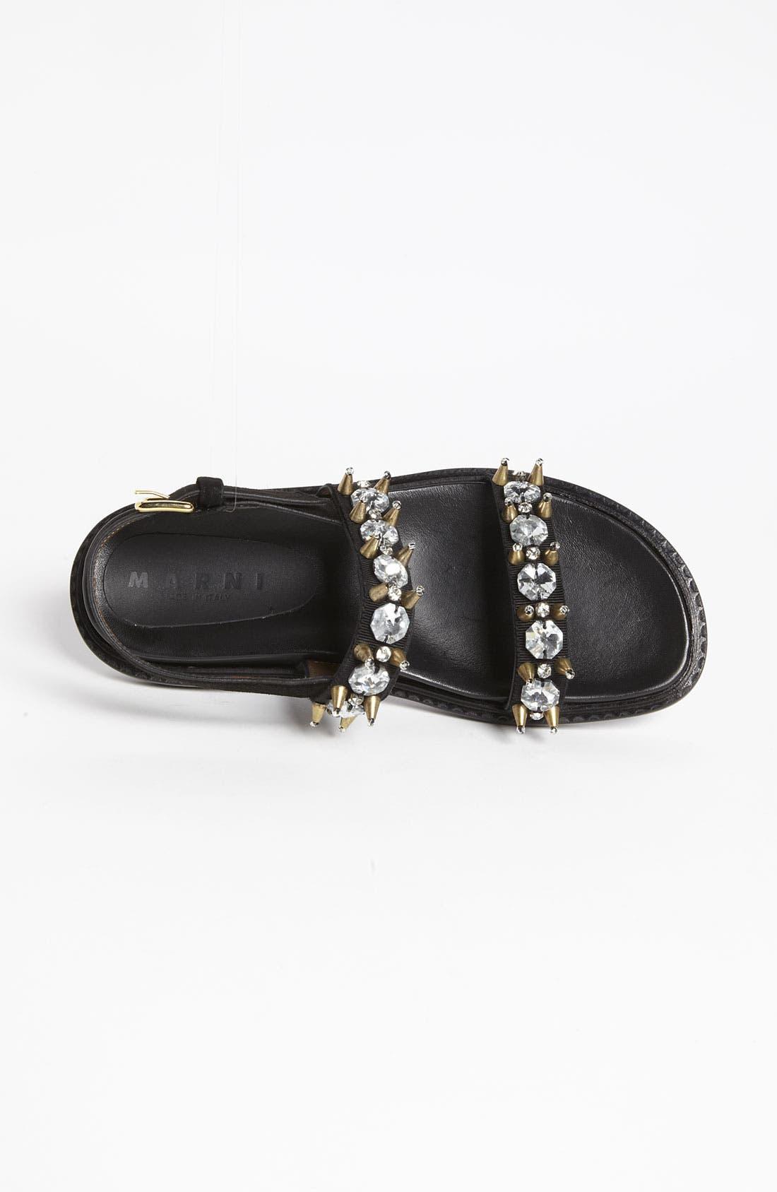 Alternate Image 3  - Marni Crystal Sandal