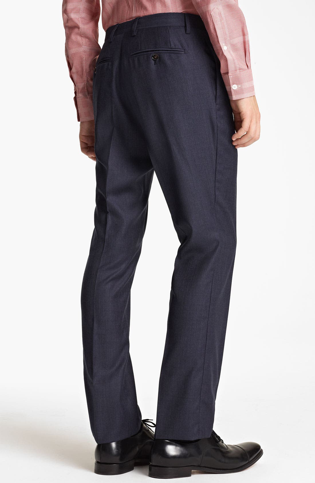 Alternate Image 5  - Burberry London Extra Trim Fit Wool Suit
