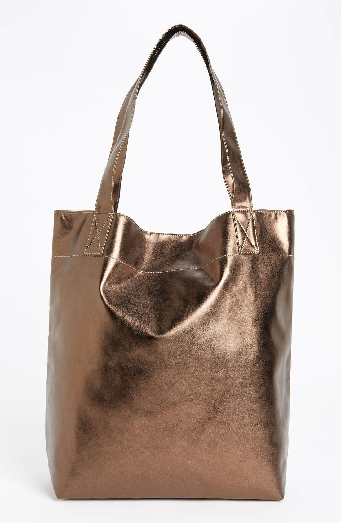 Alternate Image 4  - Cesca Metallic Tote