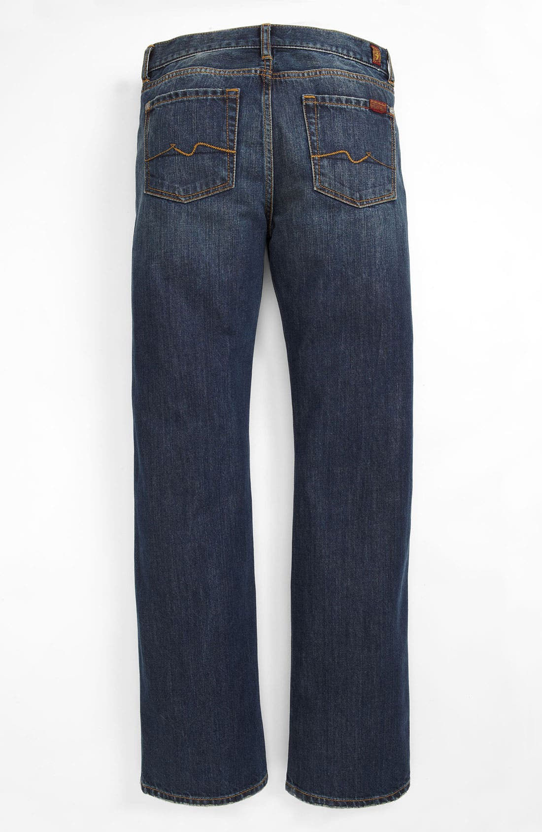 Alternate Image 1 Selected - 7 For All Mankind® 'Standard' Straight Leg Jeans (Big Boys)
