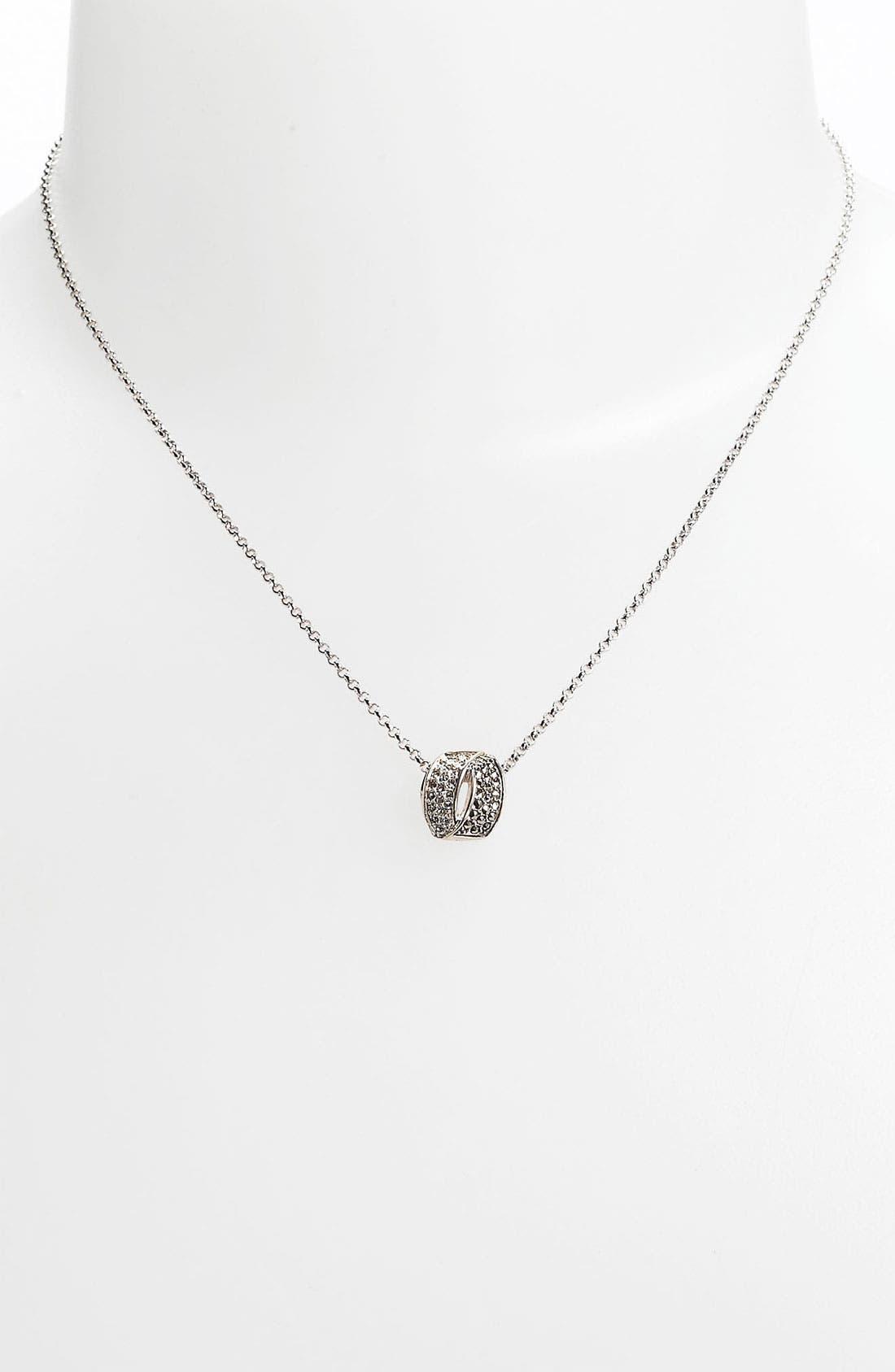 Alternate Image 1 Selected - Judith Jack 'Crystal Glitz' Pendant Necklace