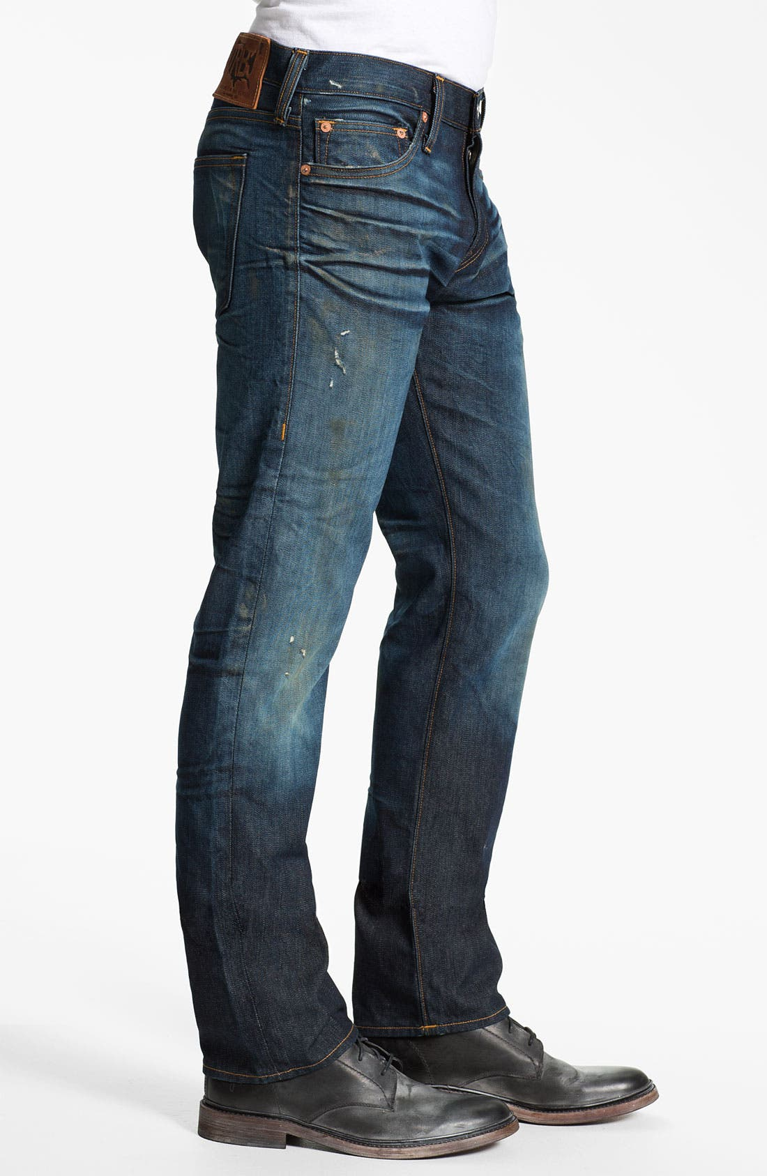 Alternate Image 3  - True Religion Brand Jeans 'Geno 1971' Slim Straight Leg Jeans (Hideout)