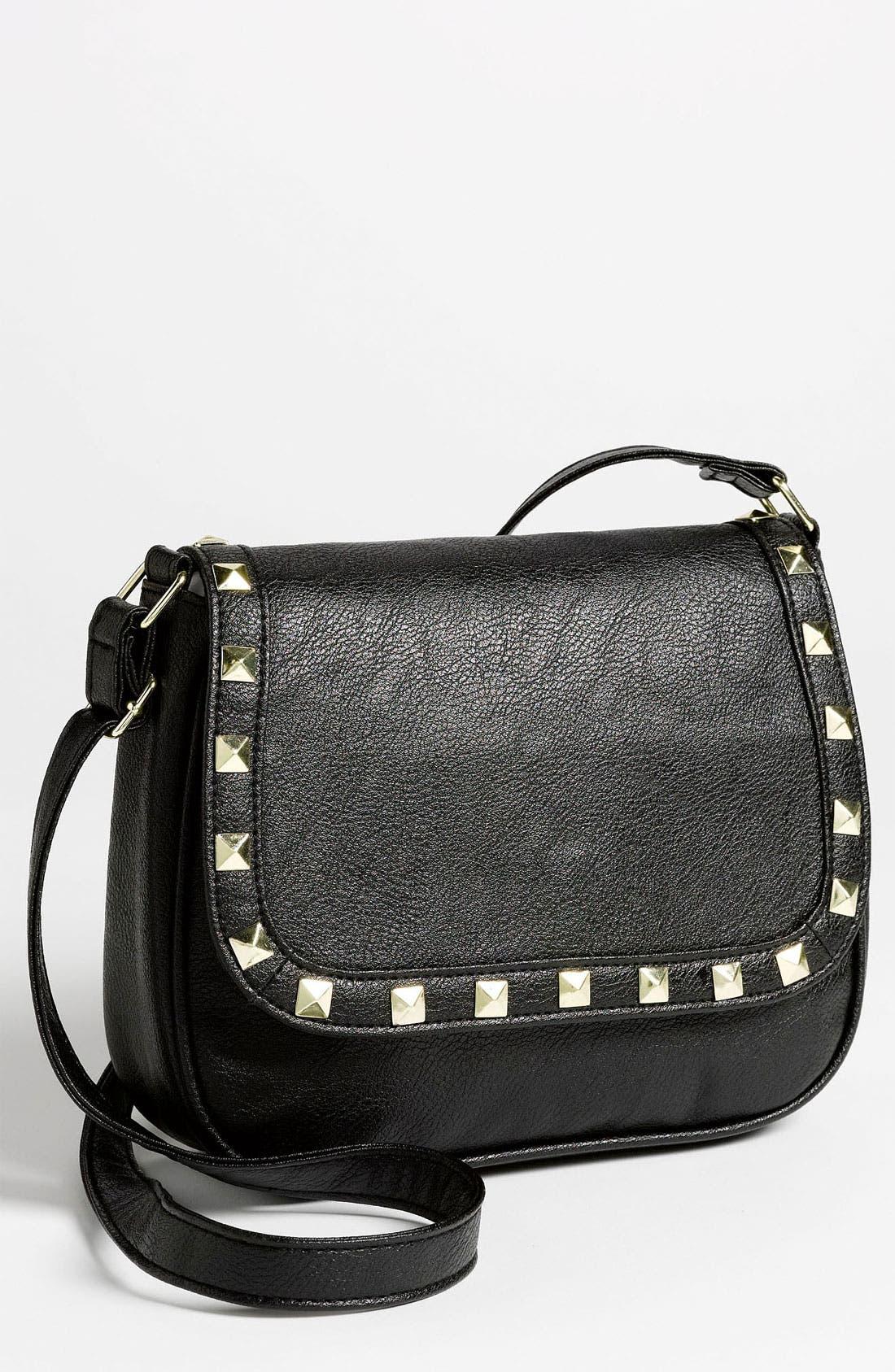 Alternate Image 1 Selected - OMG Studded Crossbody Bag