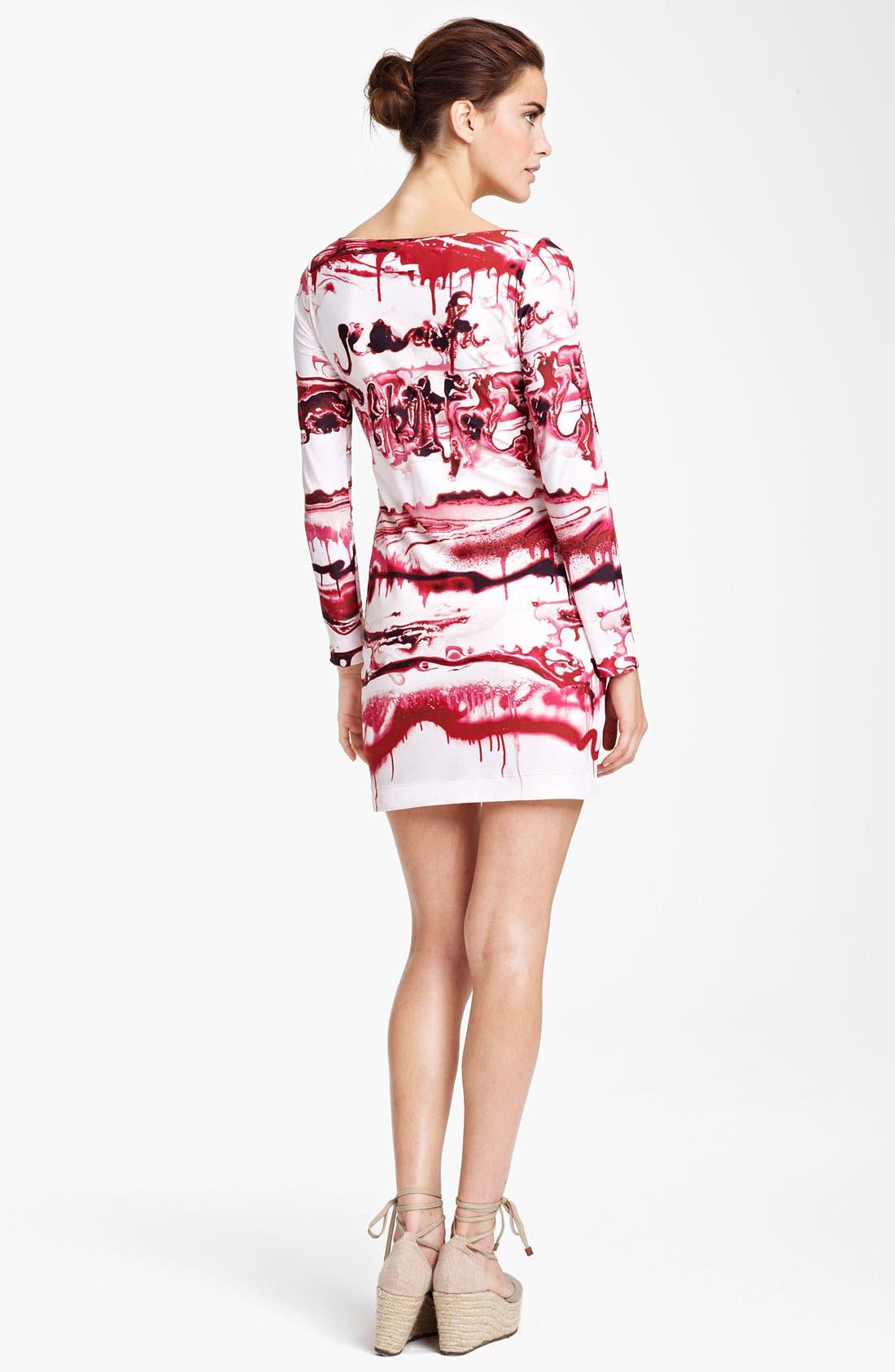 Alternate Image 2  - Jean Paul Gaultier Fuzzi Graffiti Print Dress