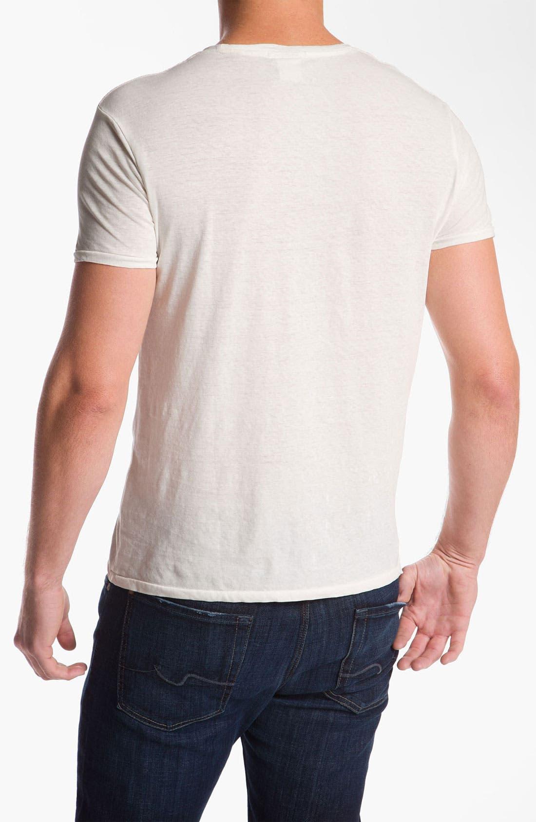 Alternate Image 2  - Scotch & Soda 'Monsieur Provocateur' Graphic Cotton & Linen T-Shirt