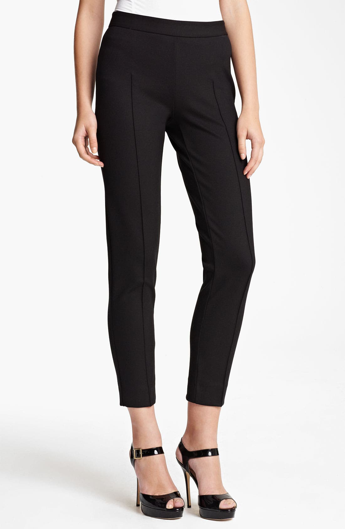 Alternate Image 1 Selected - Moschino Cheap & Chic Stretch Jersey Knit Pants