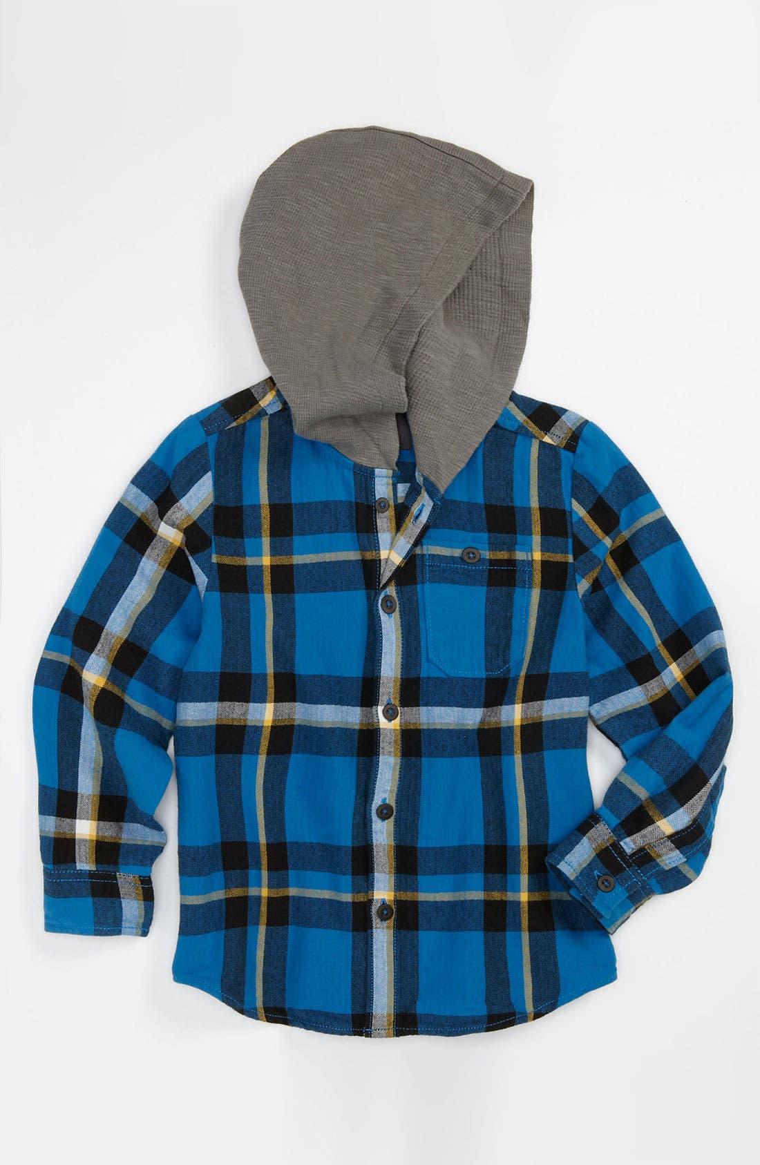 Main Image - Pure Stuff 'Hunter' Woven Shirt (Toddler)