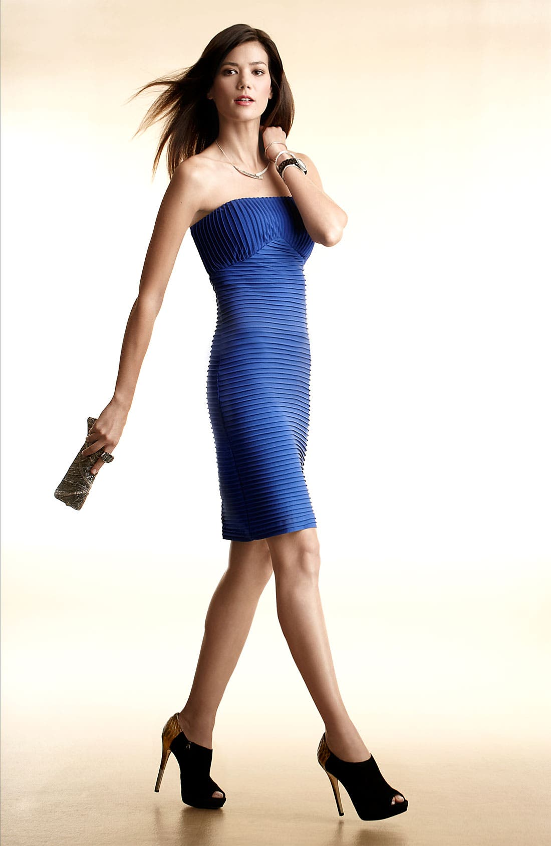Alternate Image 4  - Calvin Klein Strapless Sheath Dress