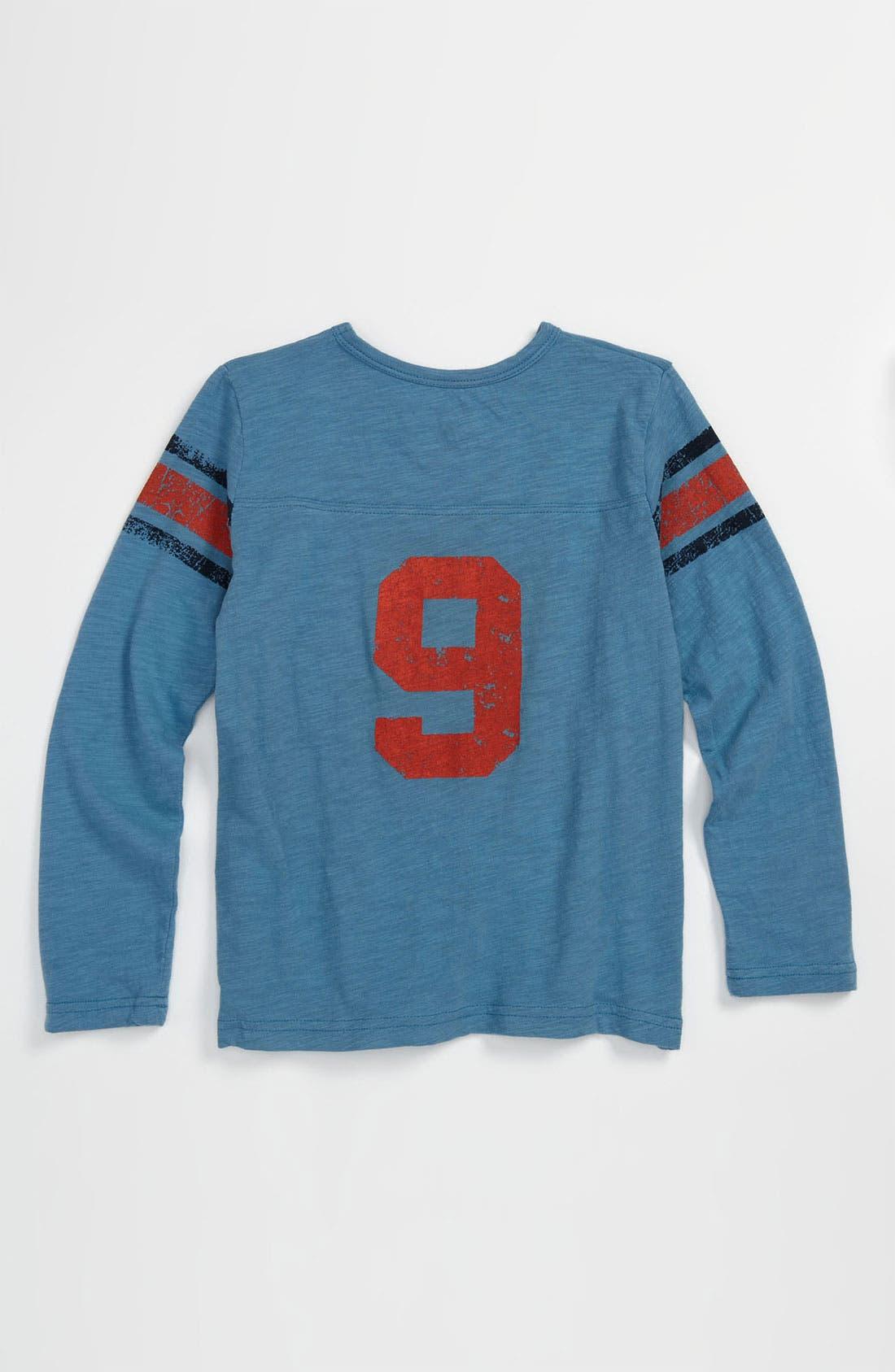 Alternate Image 2  - Peek Long Sleeve Jersey Top (Toddler, Little Boys & Big Boys)