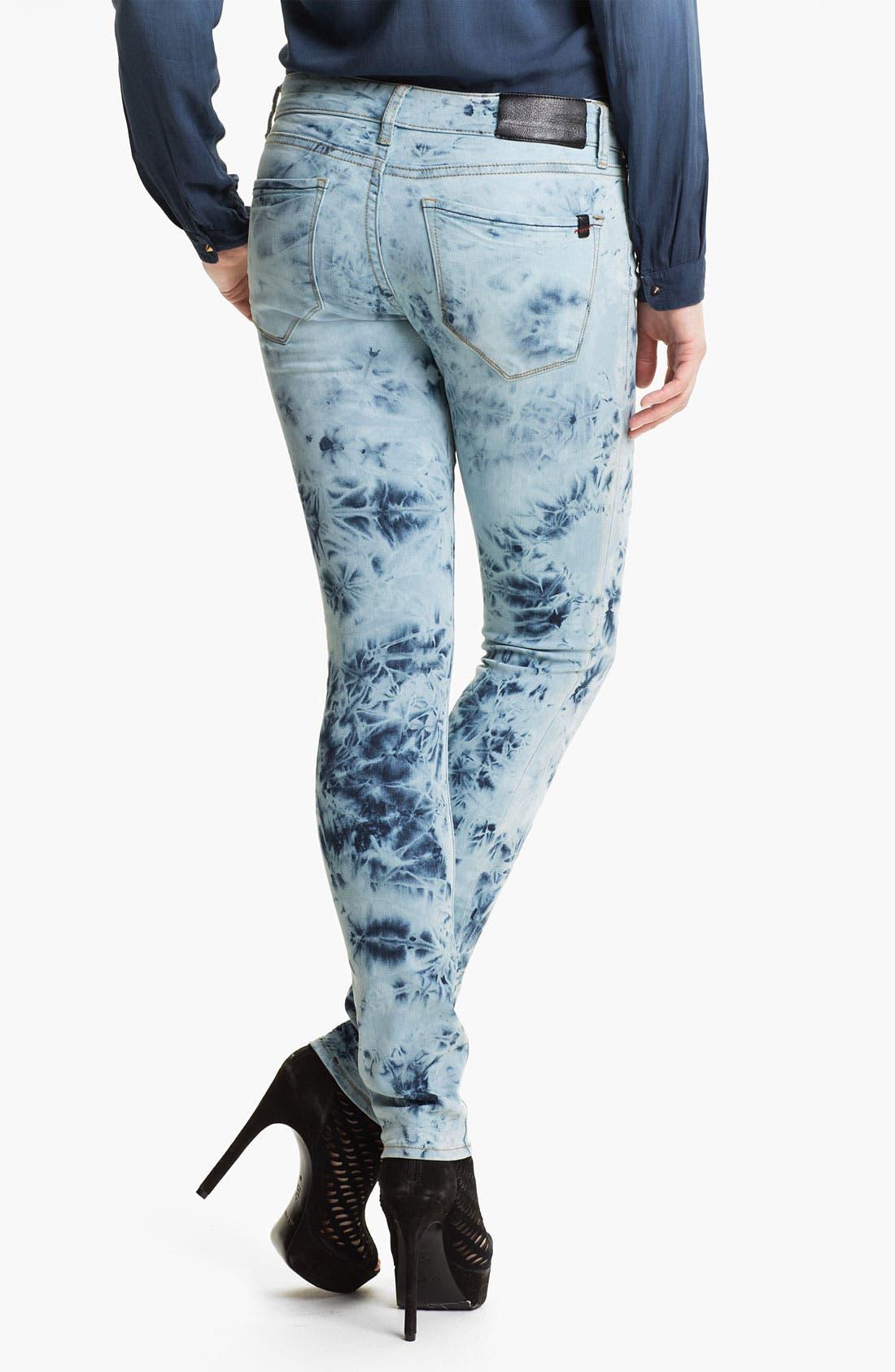 Alternate Image 2  - !iT Collective Tie Dye Skinny Jeans (Activist) (Online Exclusive)