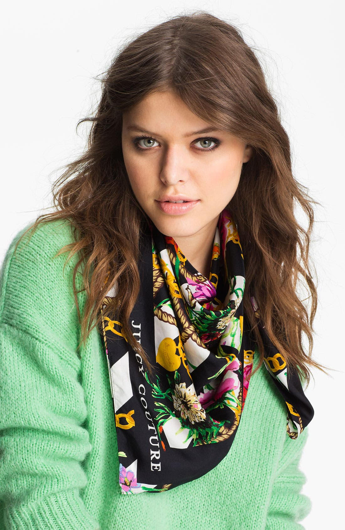 Main Image - Juicy Couture 'Royal Iconic' Silk Scarf