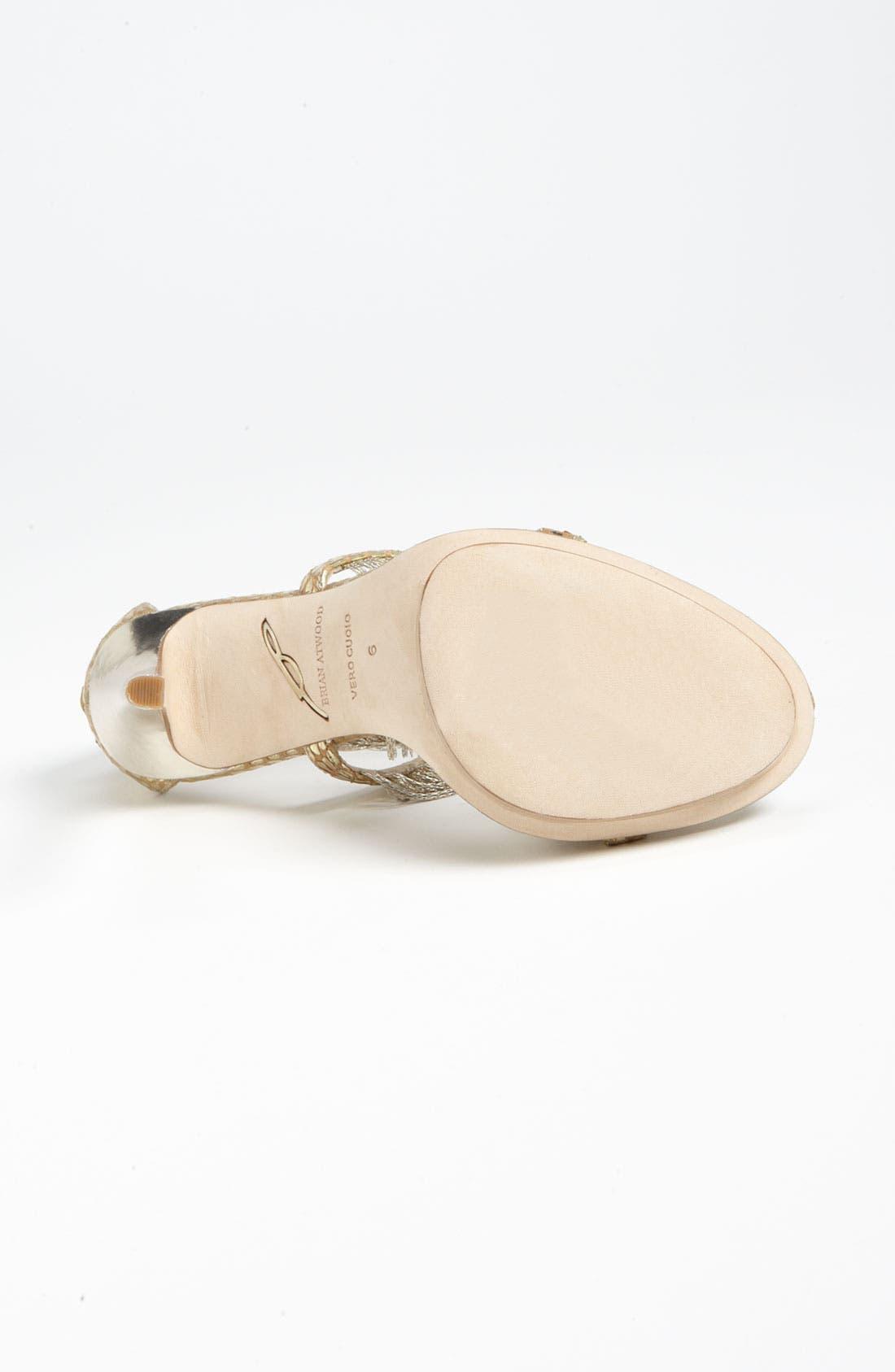 Alternate Image 4  - B Brian Atwood 'Cassiane' High Sandal