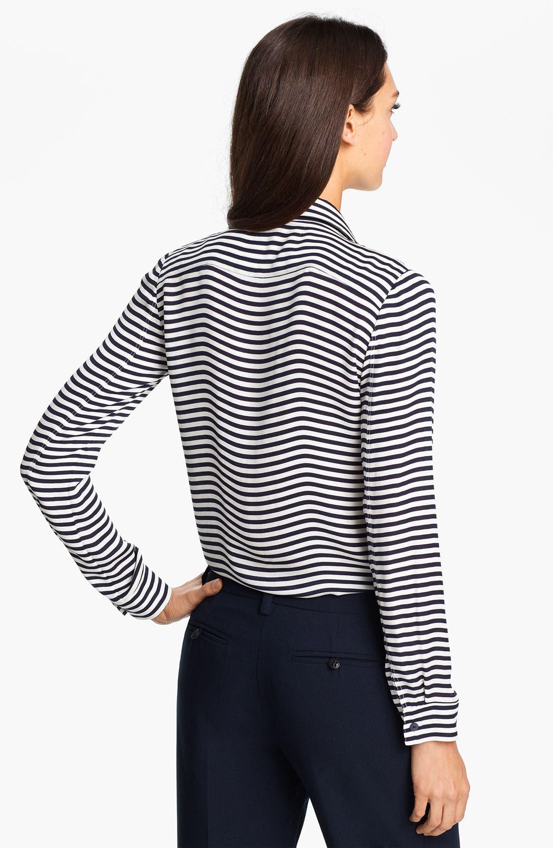 Alternate Image 2  - Theory 'Duria' Silk Shirt