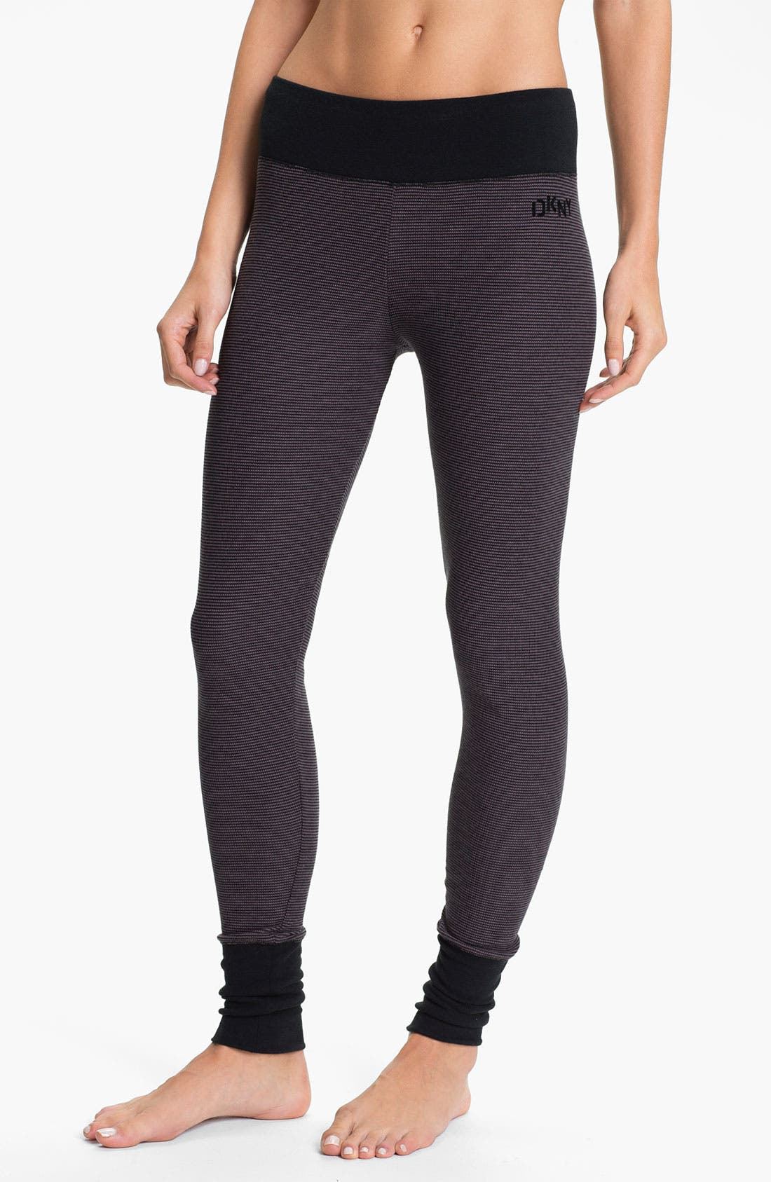 Alternate Image 1 Selected - DKNY Base Layer Cuff Leggings