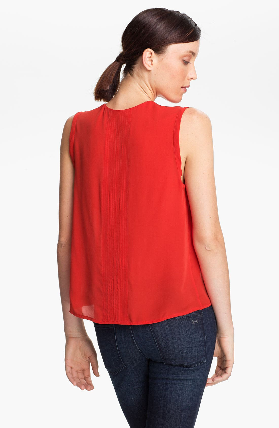 Alternate Image 2  - A.L.C. 'Moore' Sleeveless Silk Top