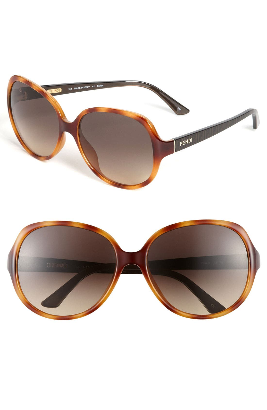 Alternate Image 1 Selected - Fendi 59mm Sunglasses