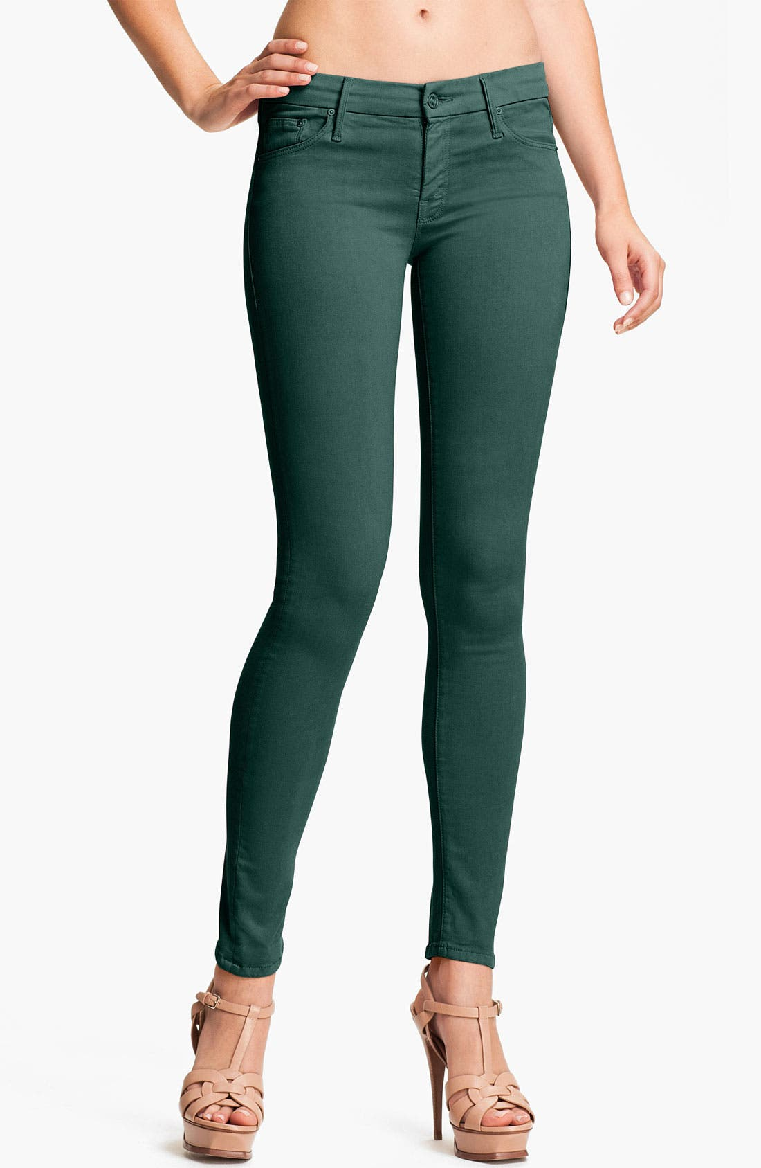 Alternate Image 1 Selected - MOTHER 'The Looker' Skinny Stretch Jeans
