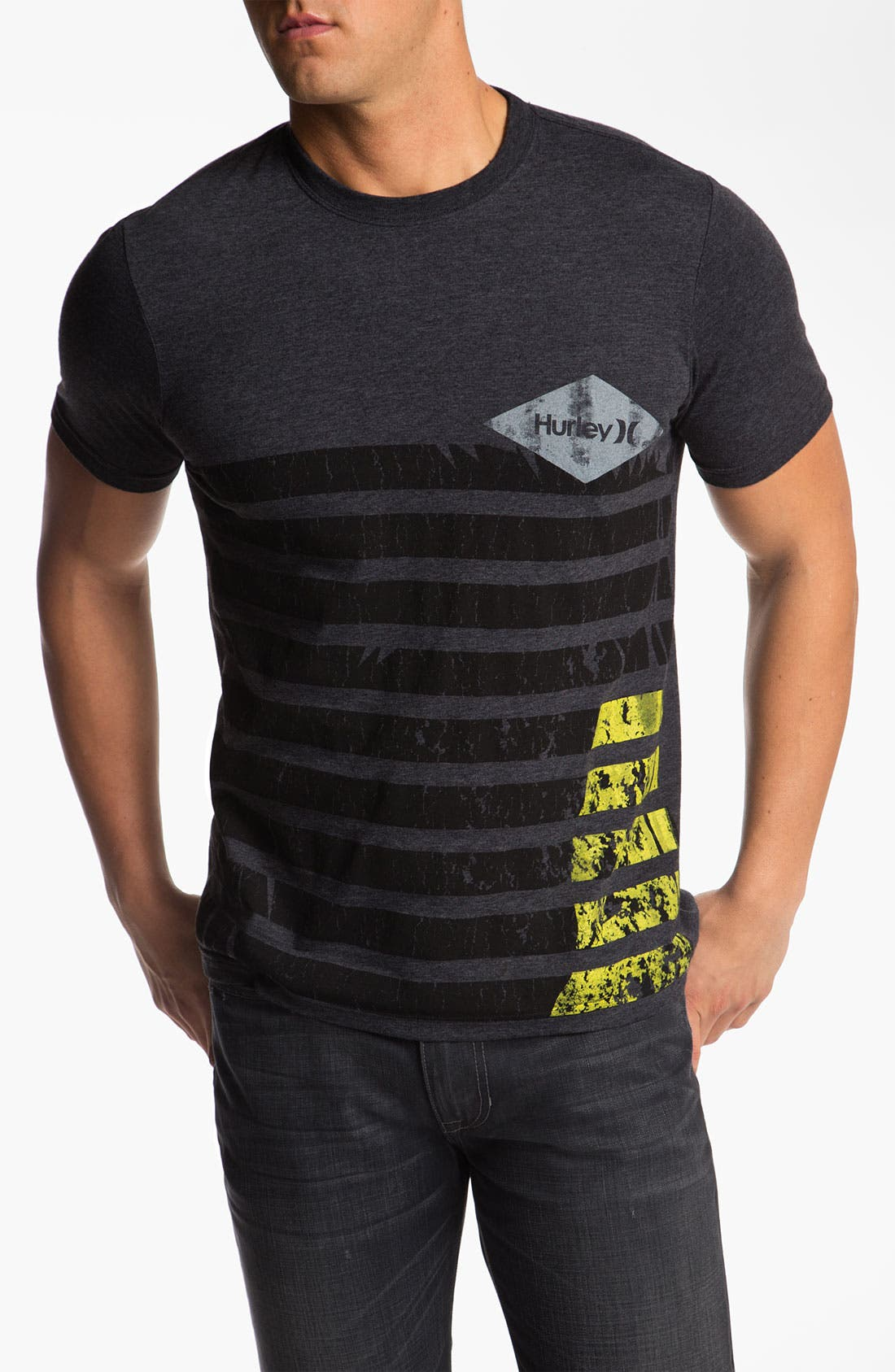 Alternate Image 1 Selected - Hurley 'Diamond in the Rough' Graphic T-Shirt