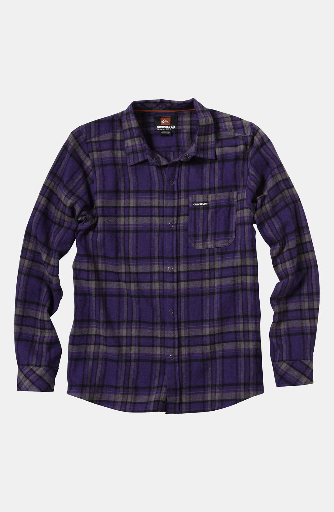 Alternate Image 1 Selected - Quiksilver 'Bunga Bunga' Woven Shirt (Big Boys)