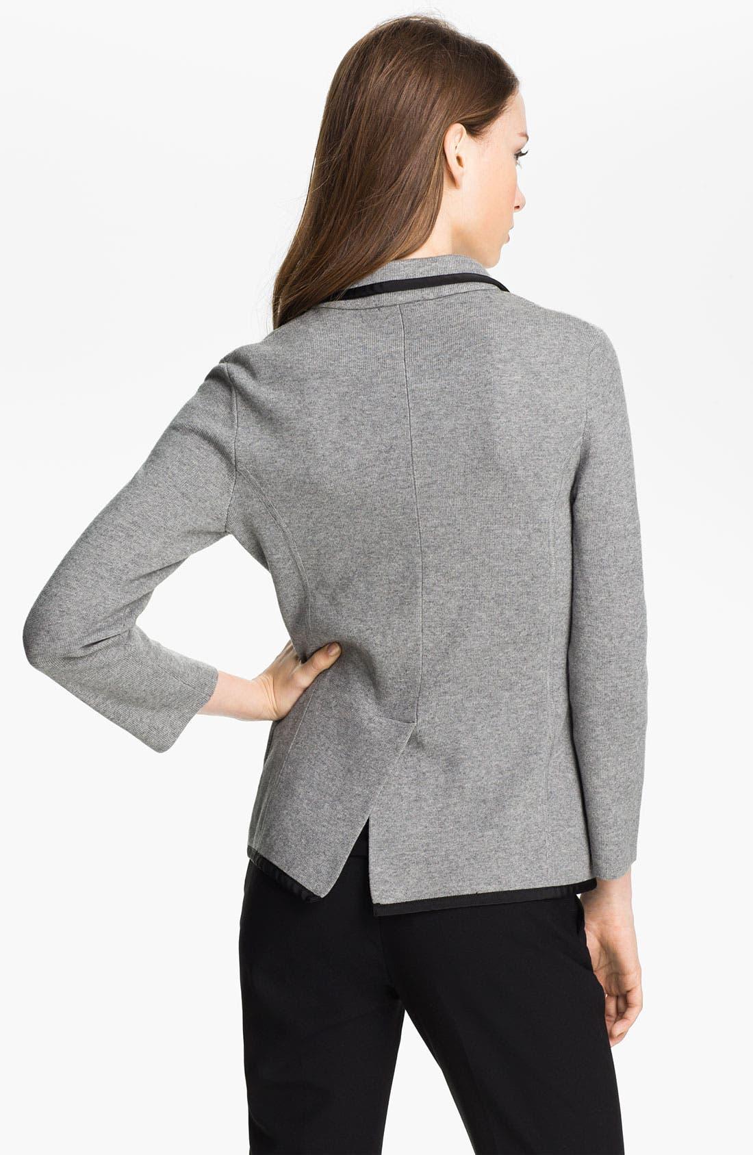Alternate Image 2  - Vince Camuto 'Milano Stitch' Sweater Jacket