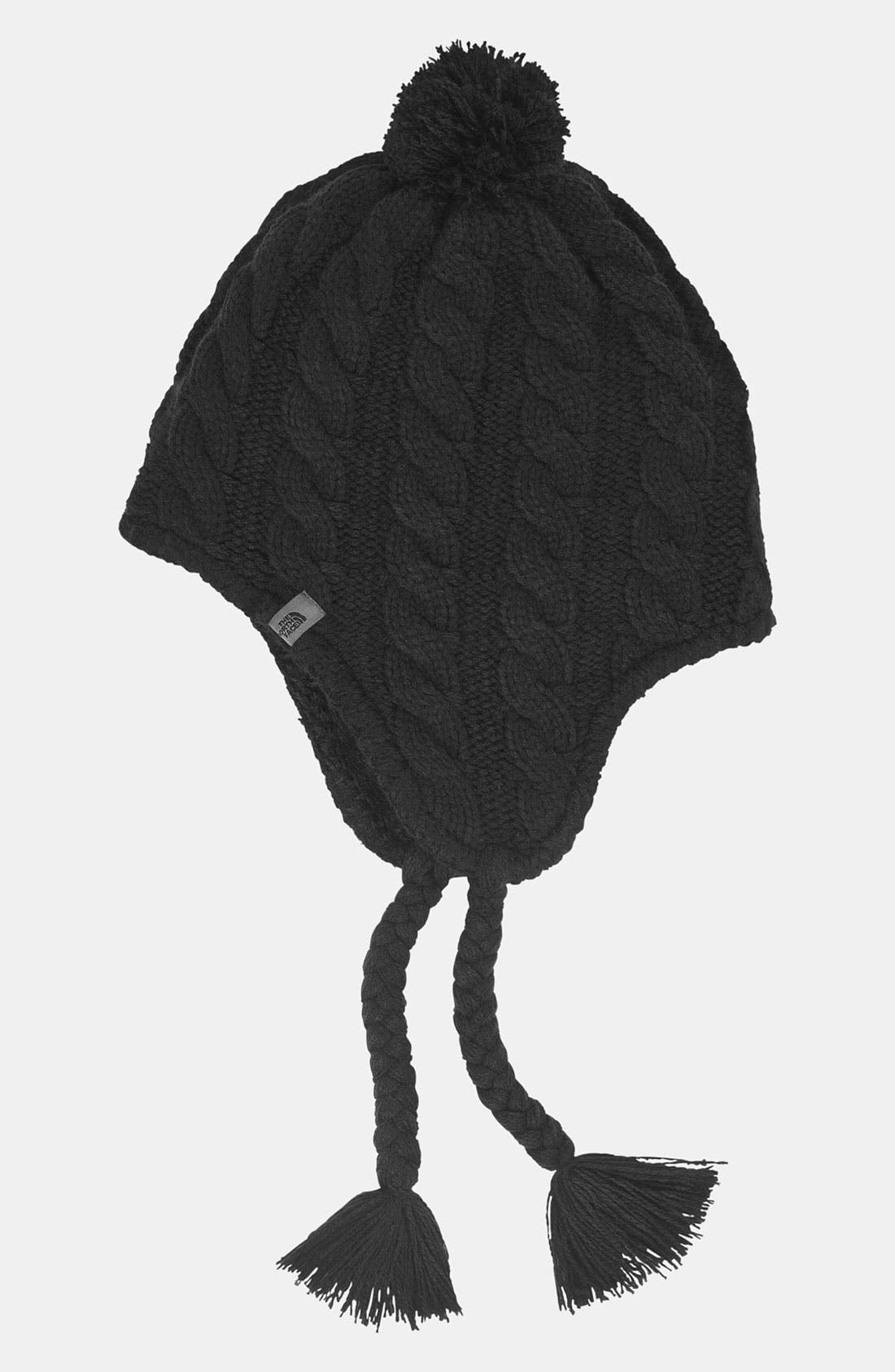 Alternate Image 1 Selected - The North Face Earflap Beanie (Girls)