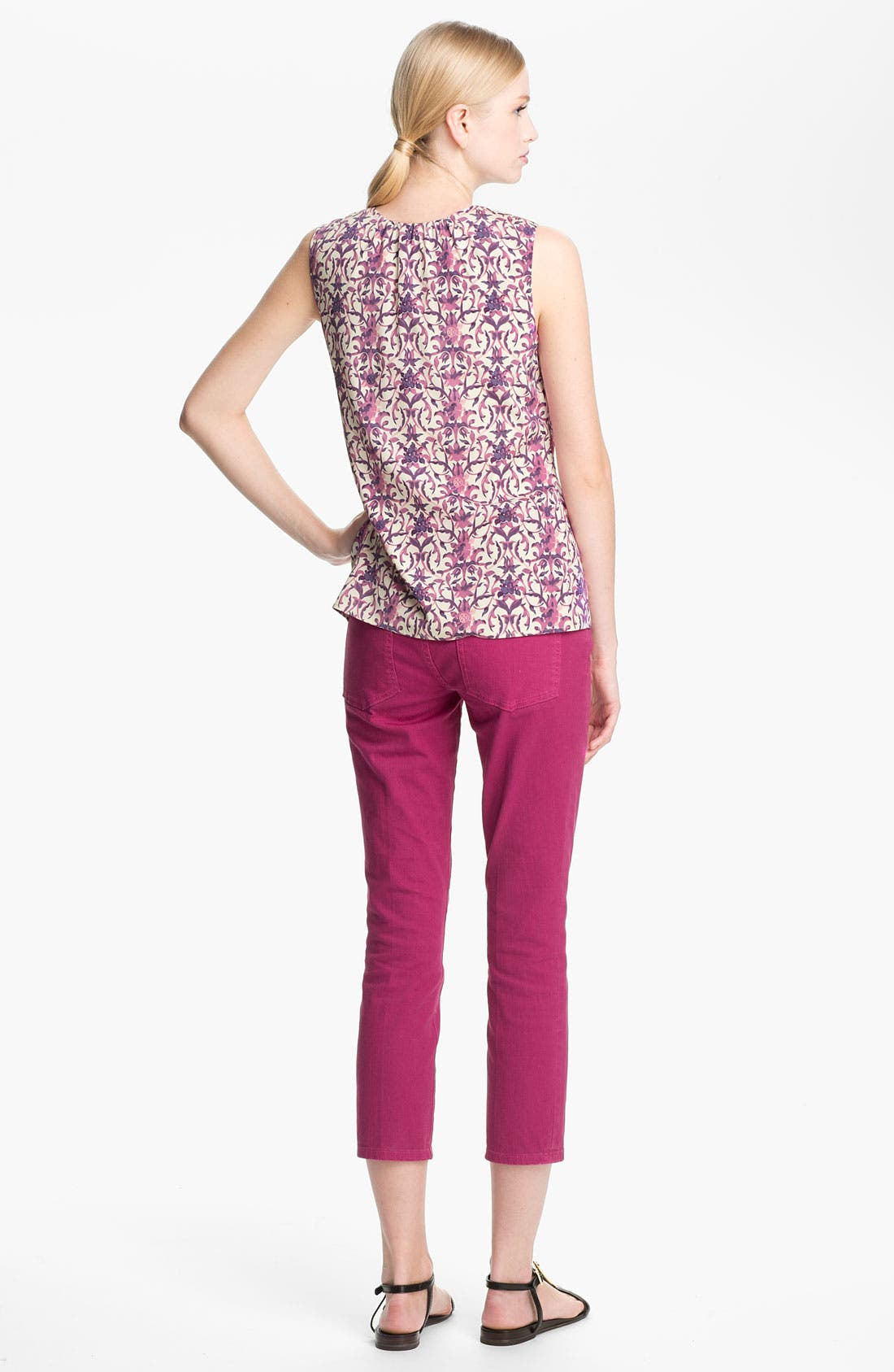 Alternate Image 3  - Tory Burch 'Alexia' Crop Skinny Stretch Jeans