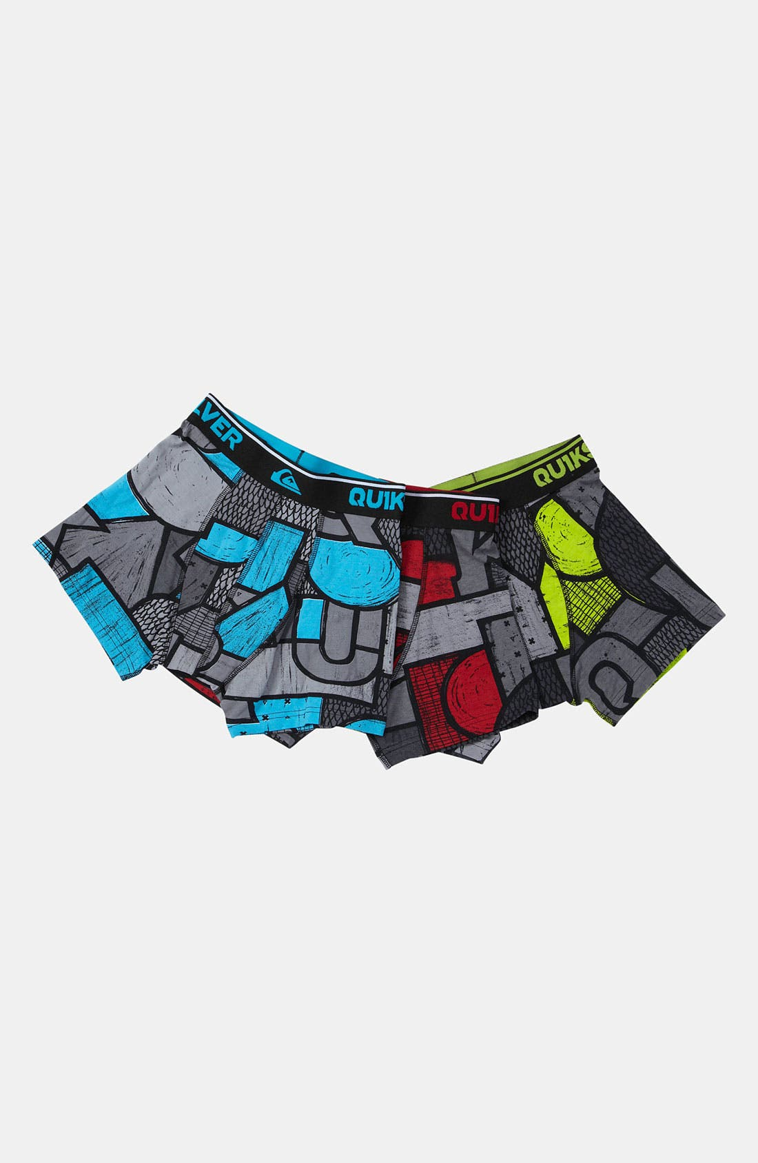 Alternate Image 1 Selected - Quiksilver Boxer Briefs (3-Pack) (Big Boys)