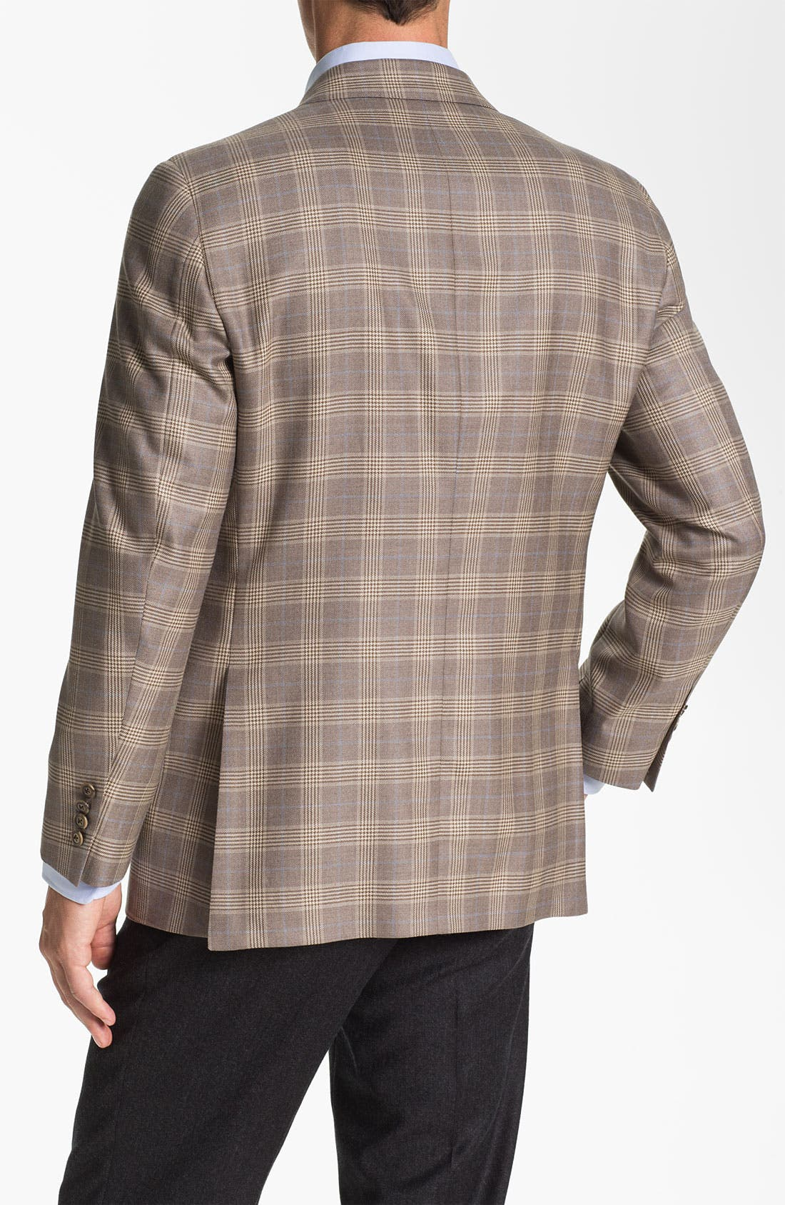 Alternate Image 2  - Samuelsohn Plaid Sportcoat